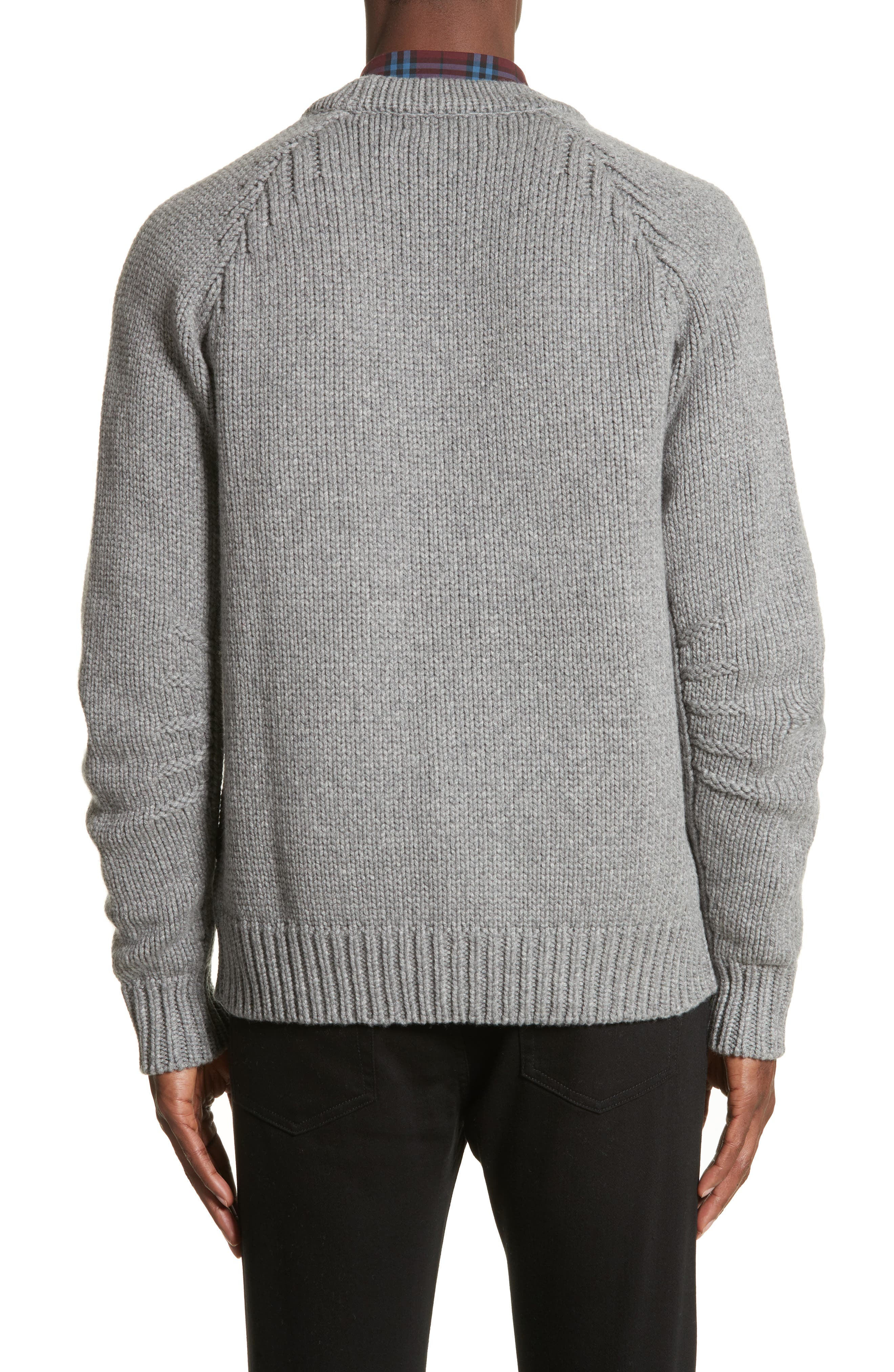 Caldwell Wool & Cashmere Cardigan,                             Alternate thumbnail 2, color,