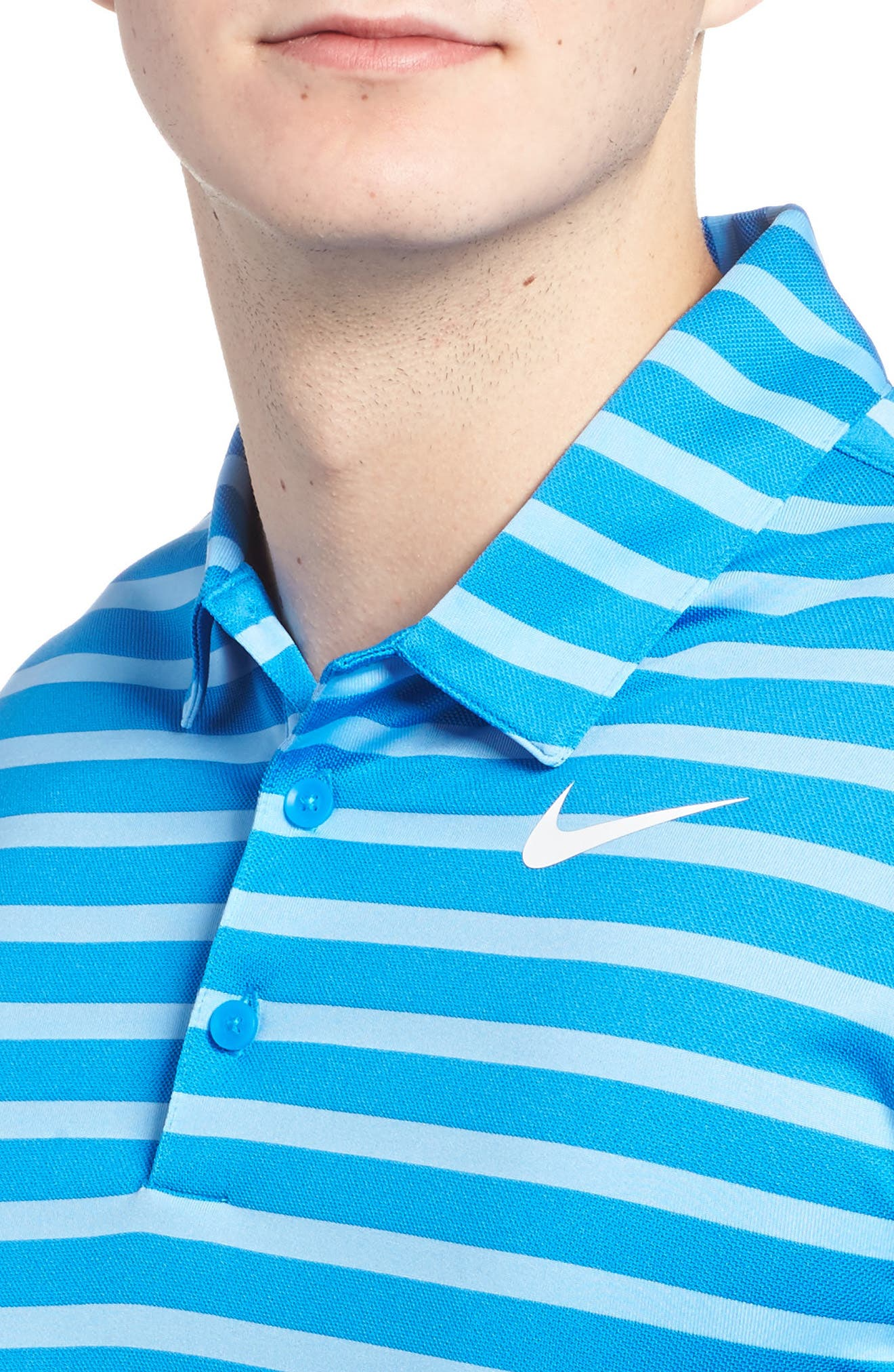 Golf Stripe Polo,                             Alternate thumbnail 8, color,