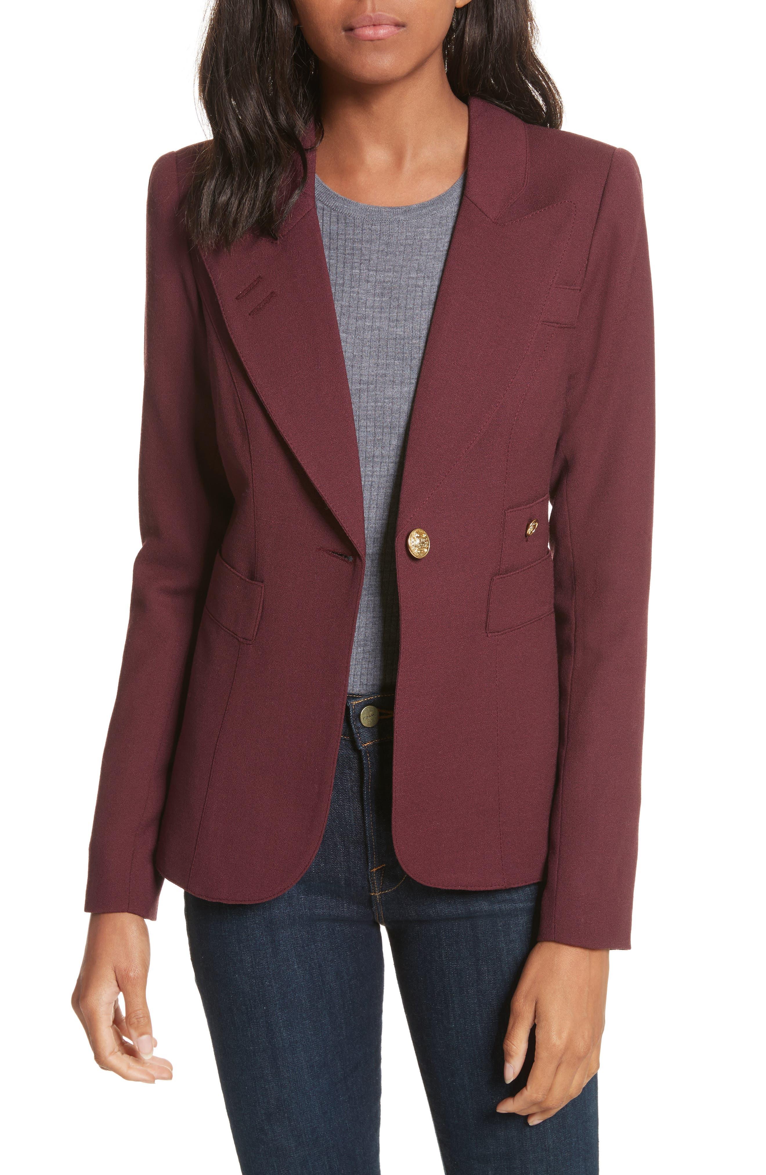 'Duchess' Single Button Blazer,                         Main,                         color,