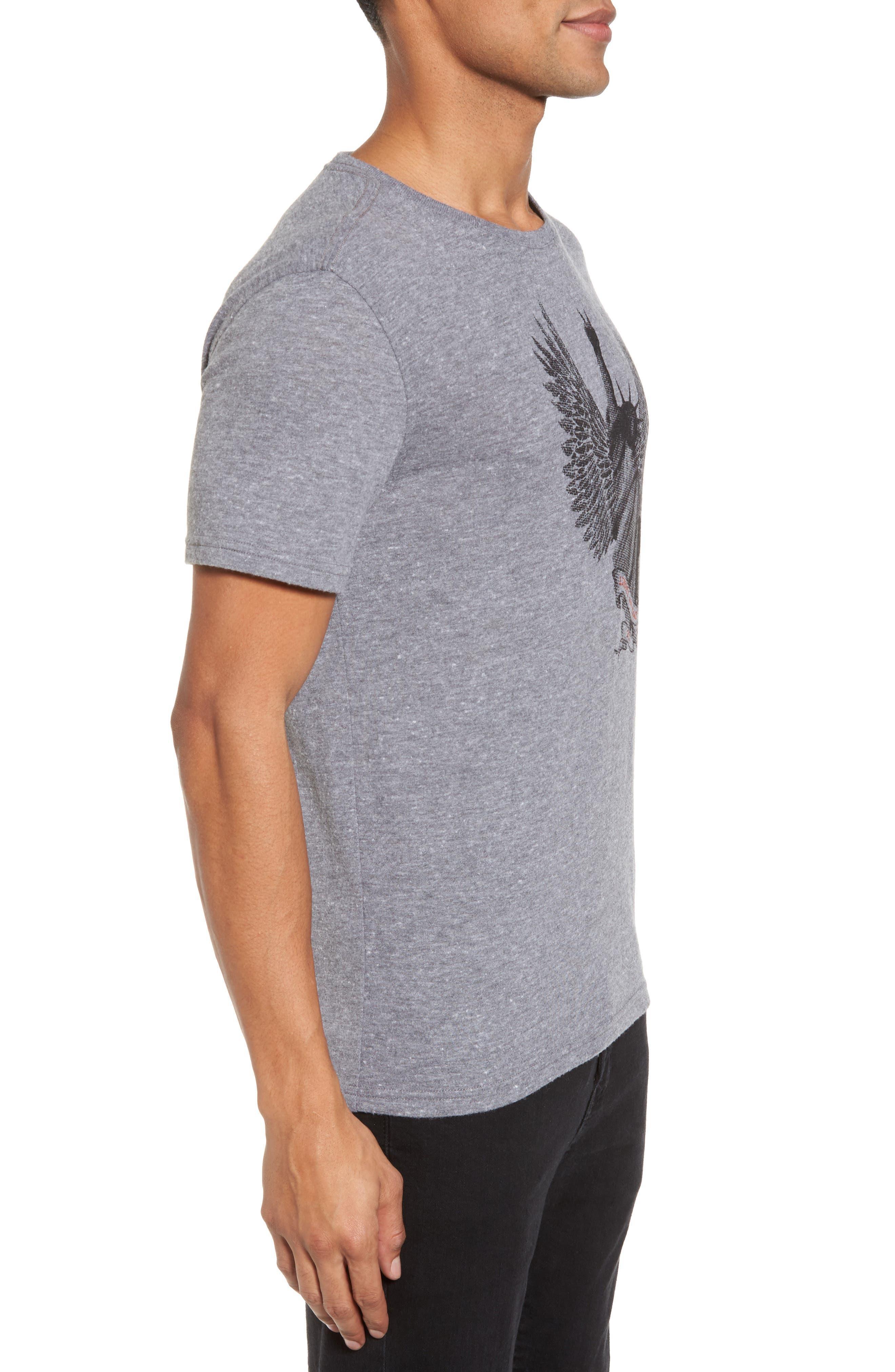 Liberty Wings Graphic T-Shirt,                             Alternate thumbnail 3, color,                             073
