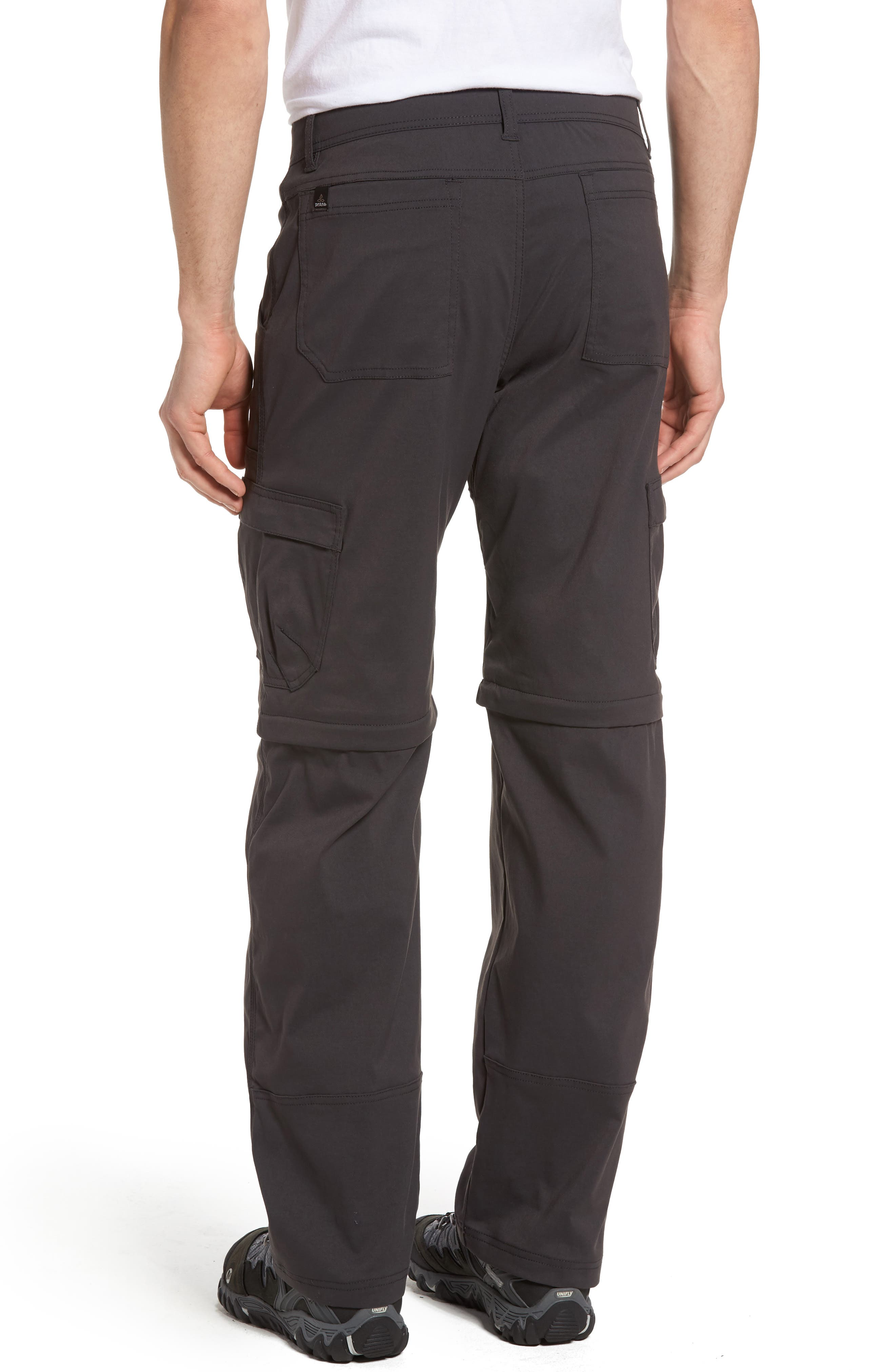 Zion Stretch Convertible Cargo Hiking Pants,                             Alternate thumbnail 2, color,                             010