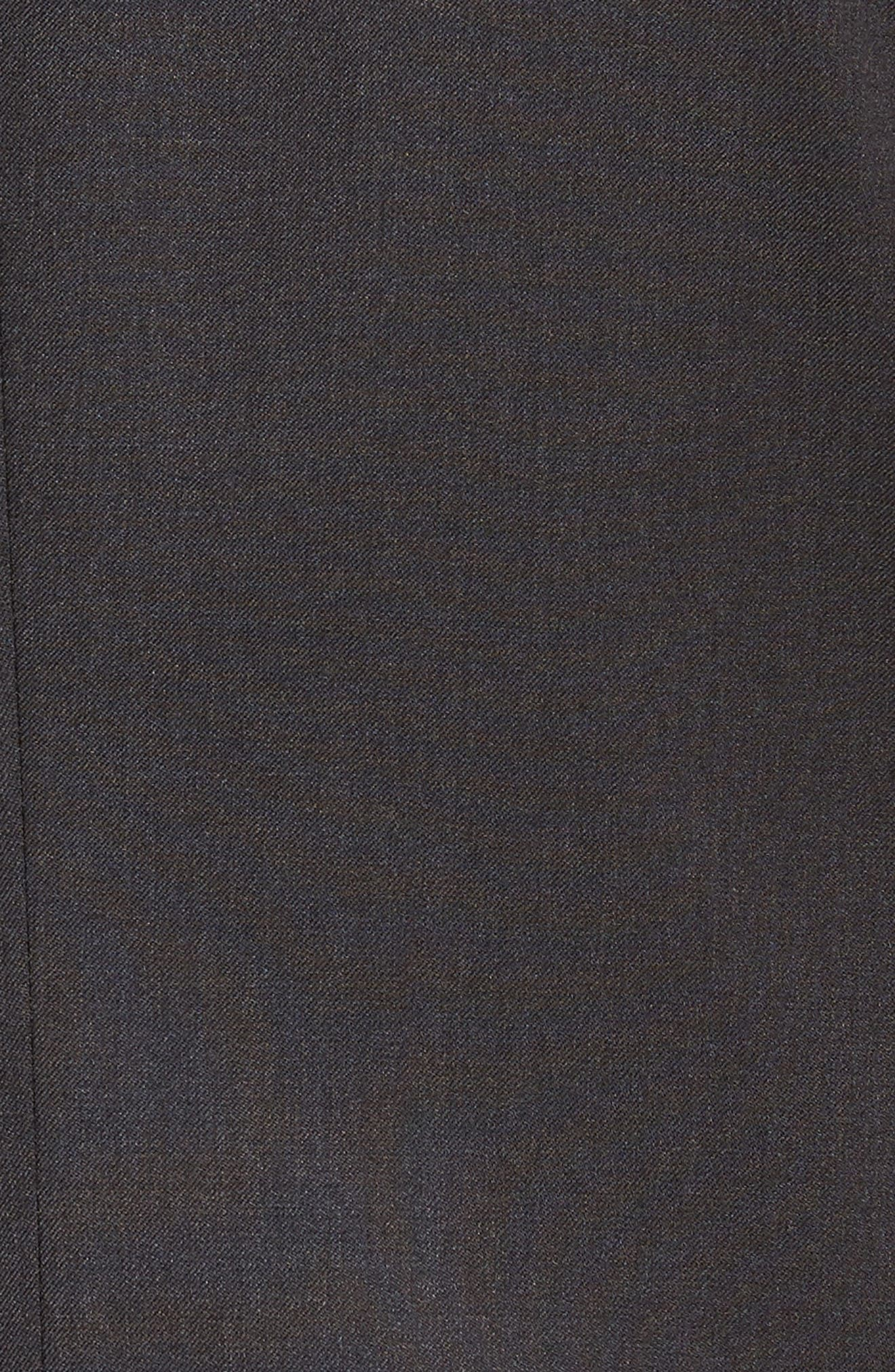 'Ryan/Win' Extra Trim Fit Solid Wool Suit,                             Alternate thumbnail 9, color,                             021