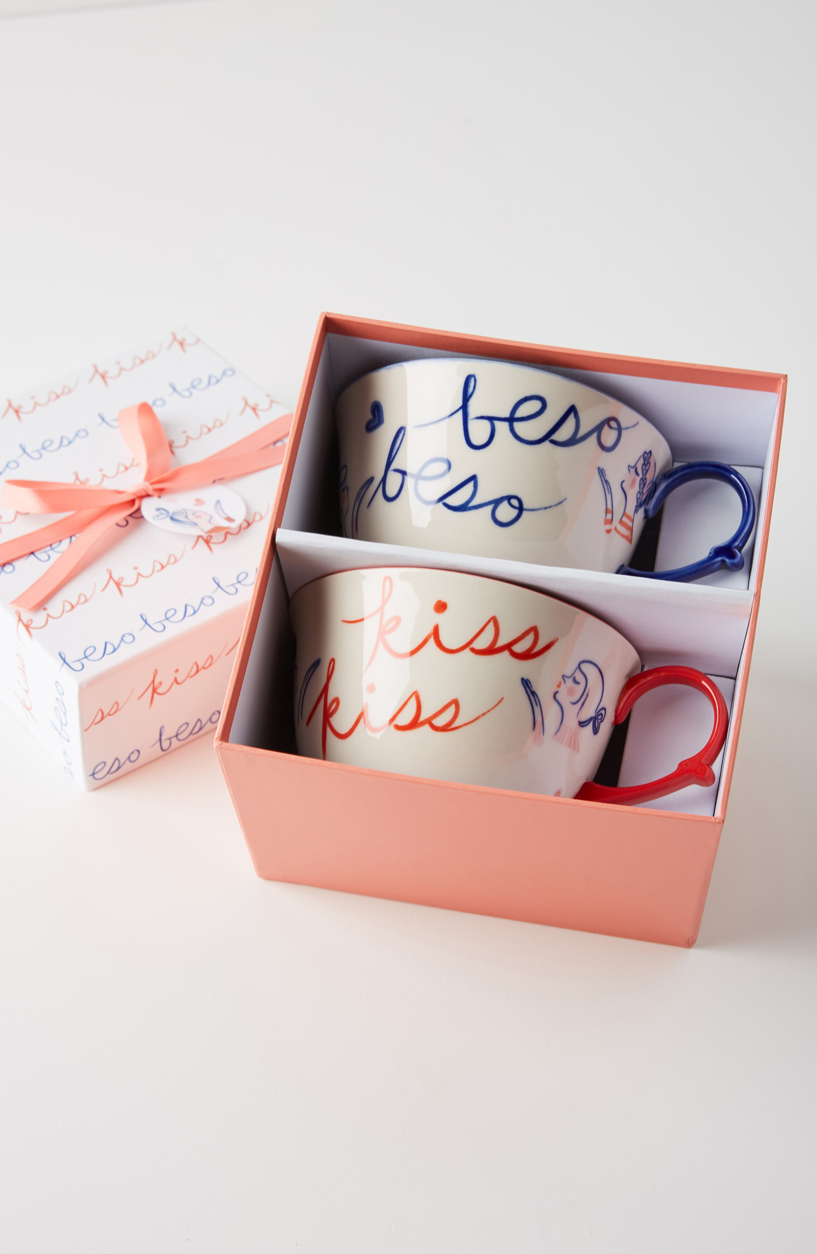 Libby VanderPloeg Set of 2 Mugs,                             Alternate thumbnail 3, color,                             BLUE COMBO