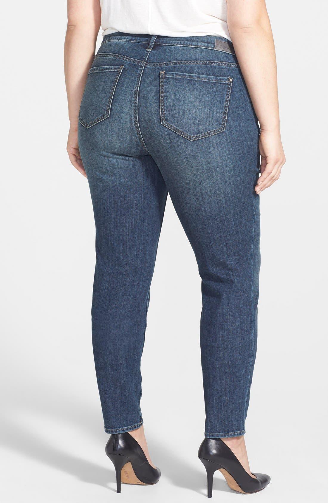 'Soho' Stretch Skinny Jeans,                             Alternate thumbnail 2, color,                             462