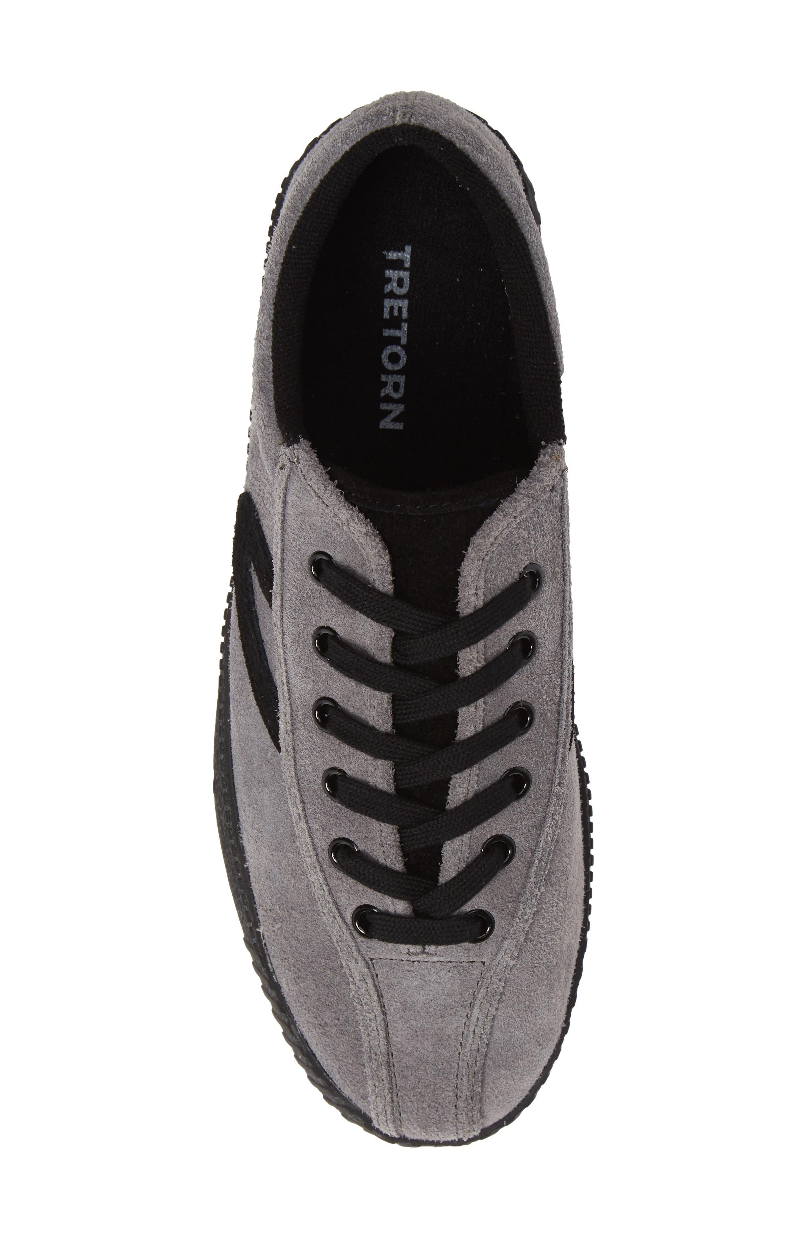 Nylite26Plus Sneaker,                             Alternate thumbnail 5, color,                             GRAPHITE SUEDE