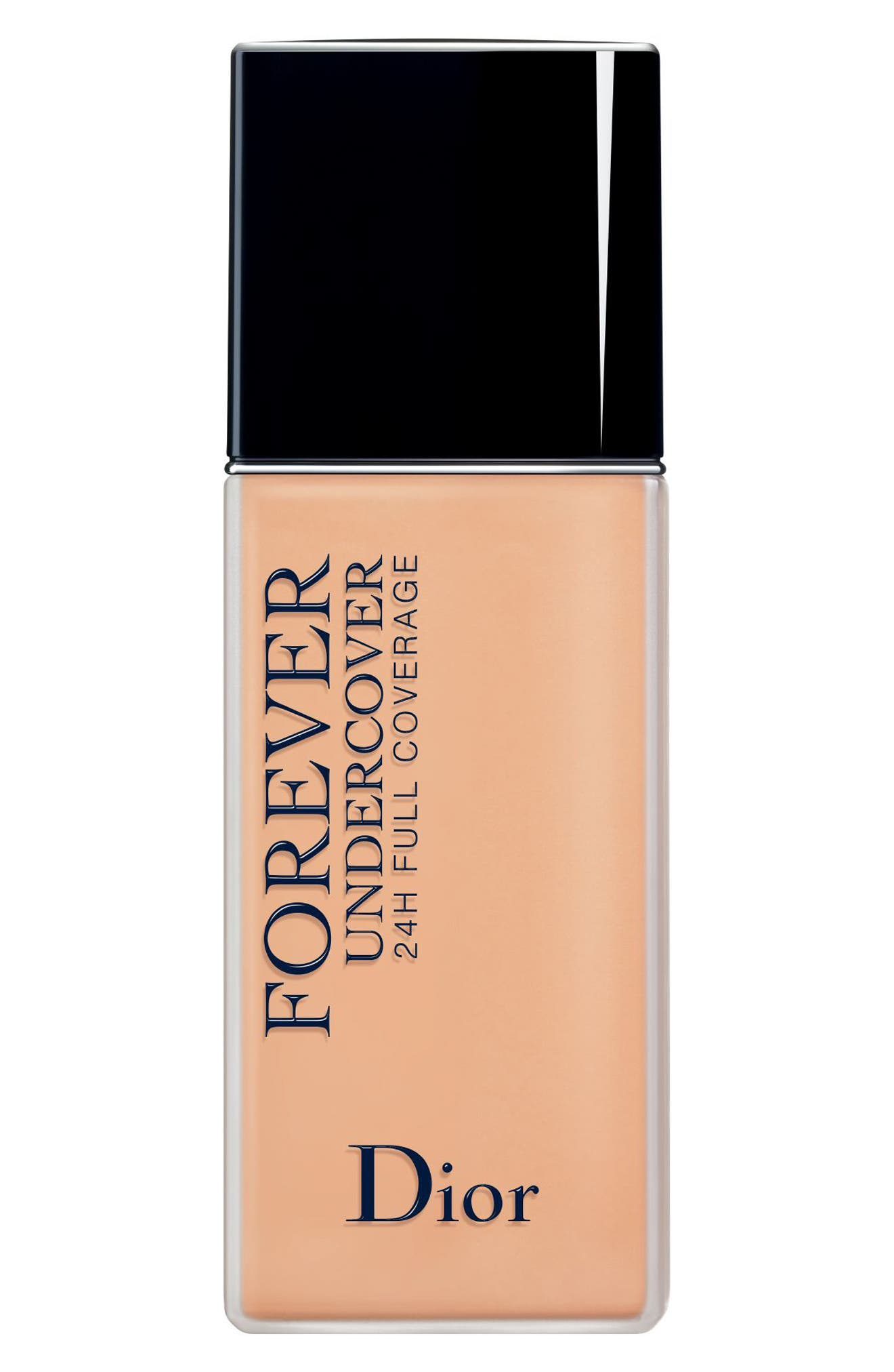 Dior Diorskin Forever Undercover 24-Hour Full Coverage Water-Based Foundation - 033 Apricot Beige