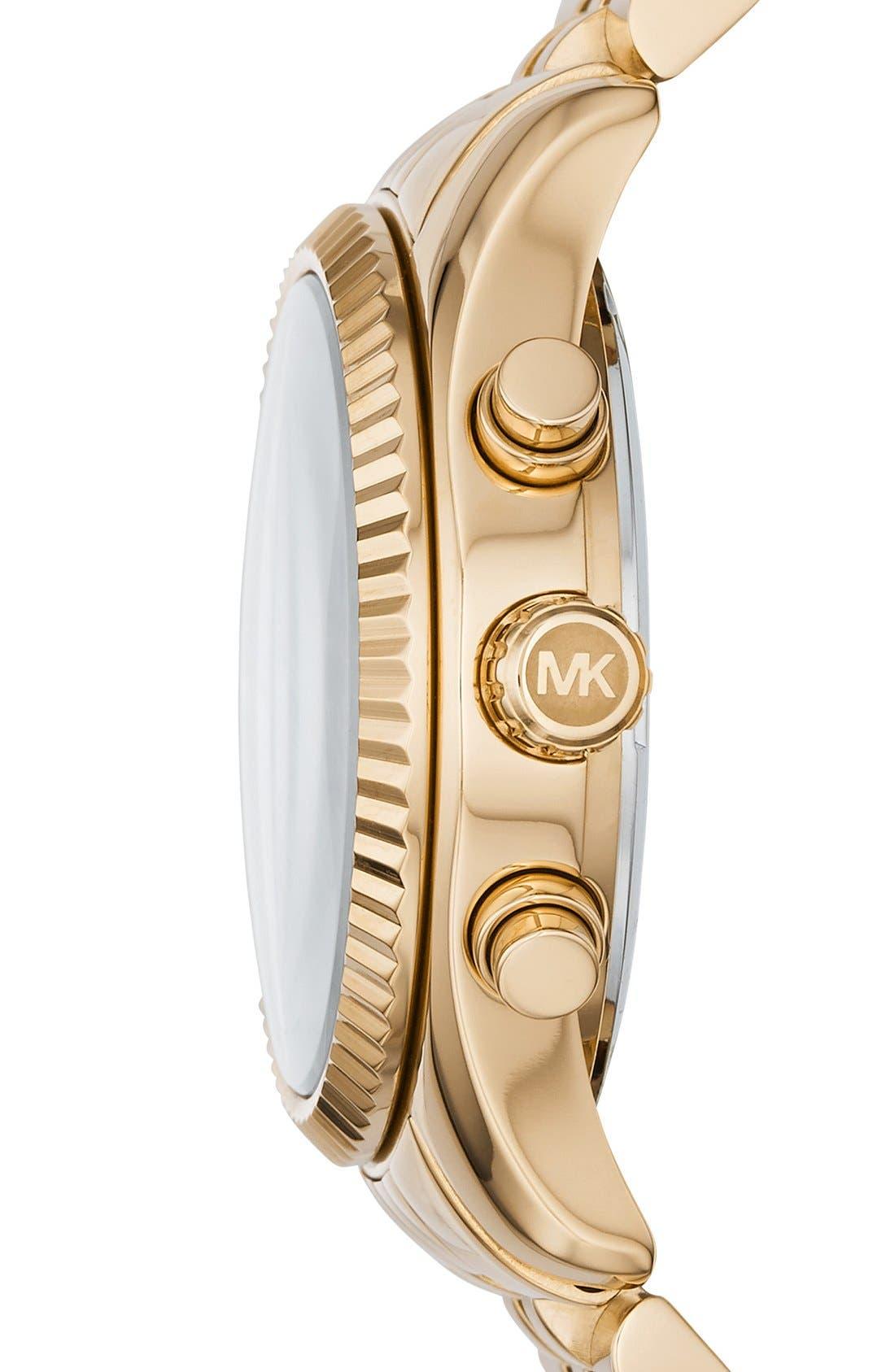 'Lexington' Chronograph Bracelet Watch, 38mm,                             Alternate thumbnail 21, color,