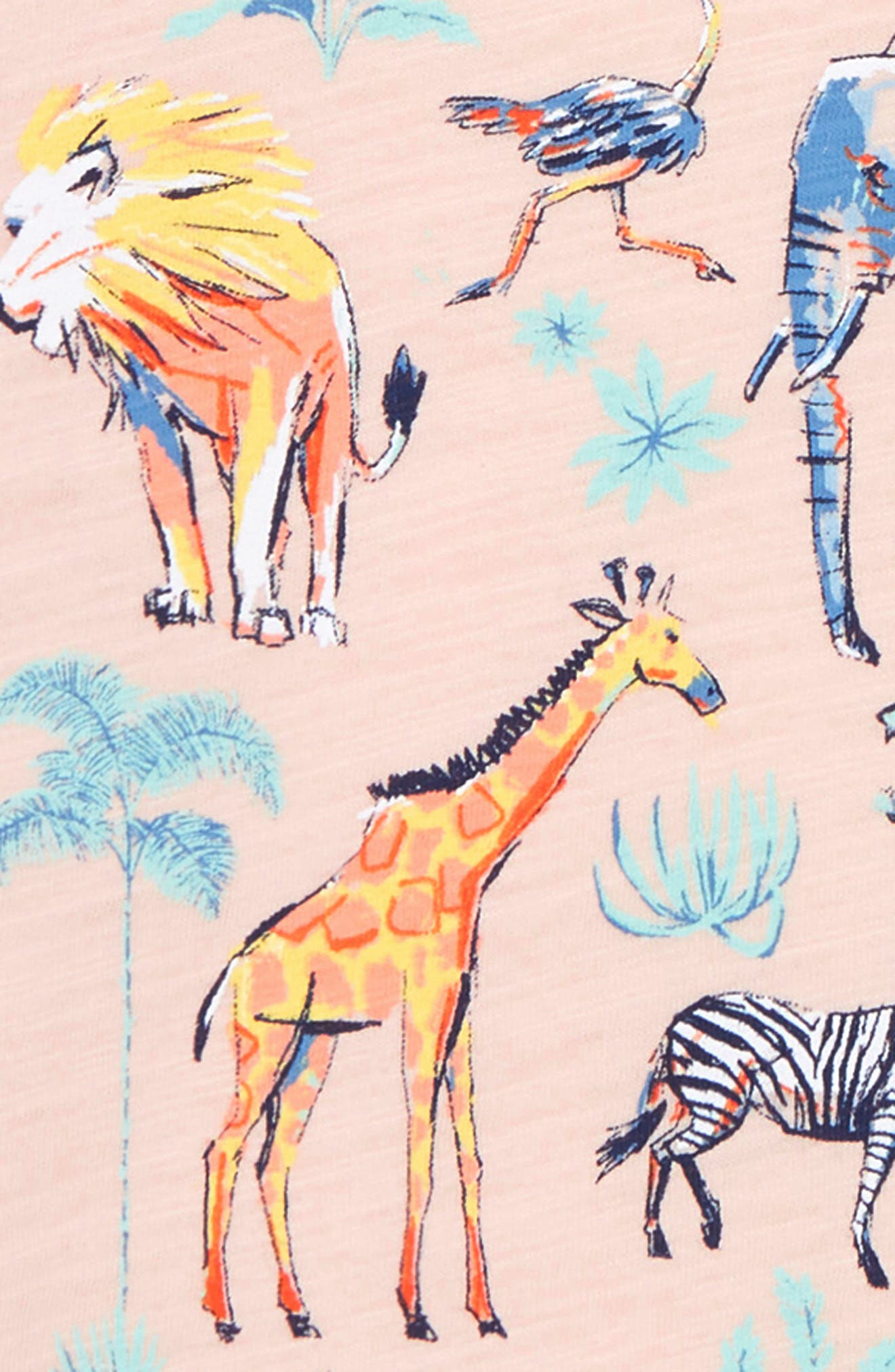Animals of Africa Graphic Tee,                             Alternate thumbnail 2, color,                             950