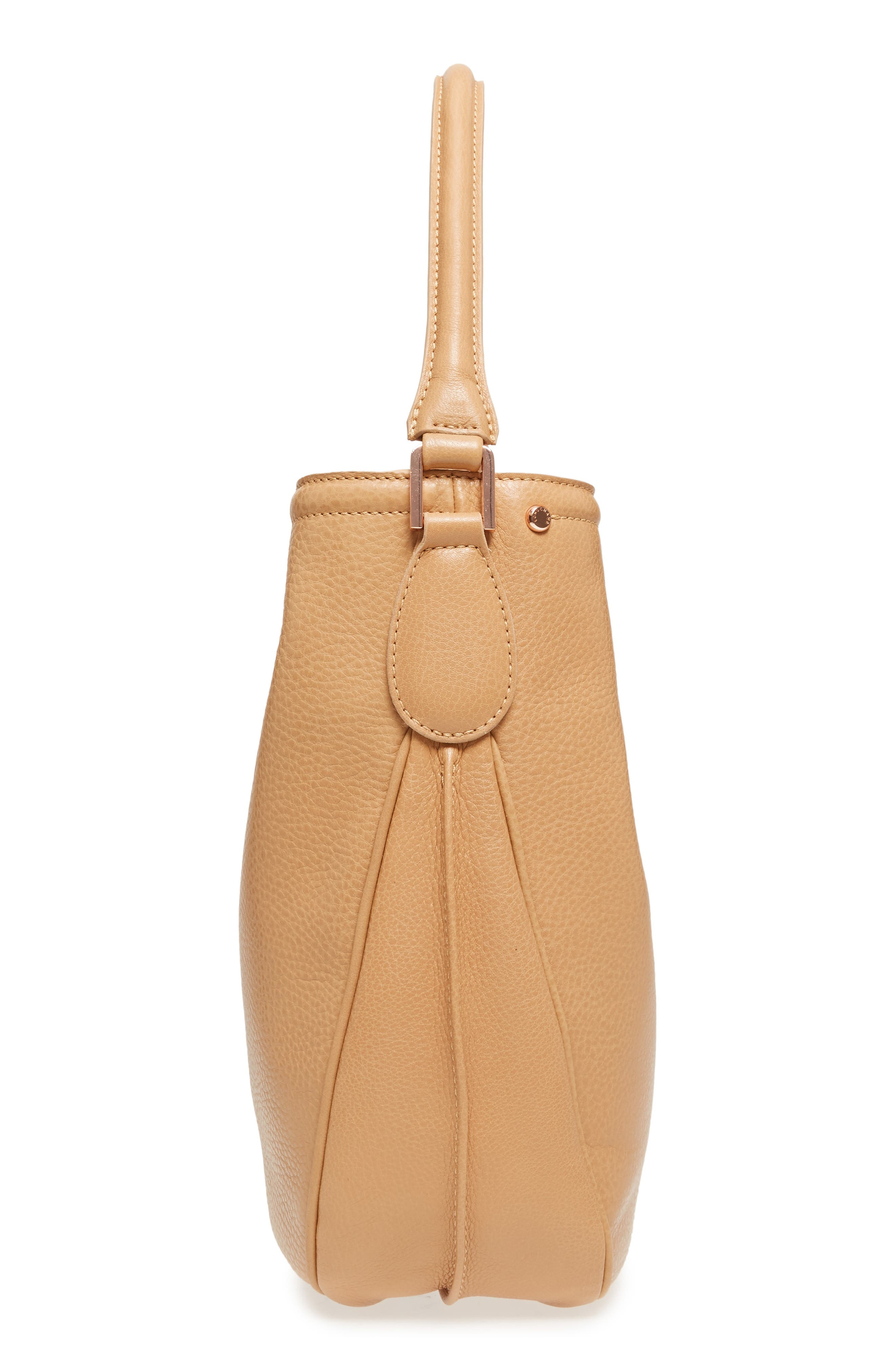 'Mystery' Leather Hobo,                             Alternate thumbnail 5, color,                             266