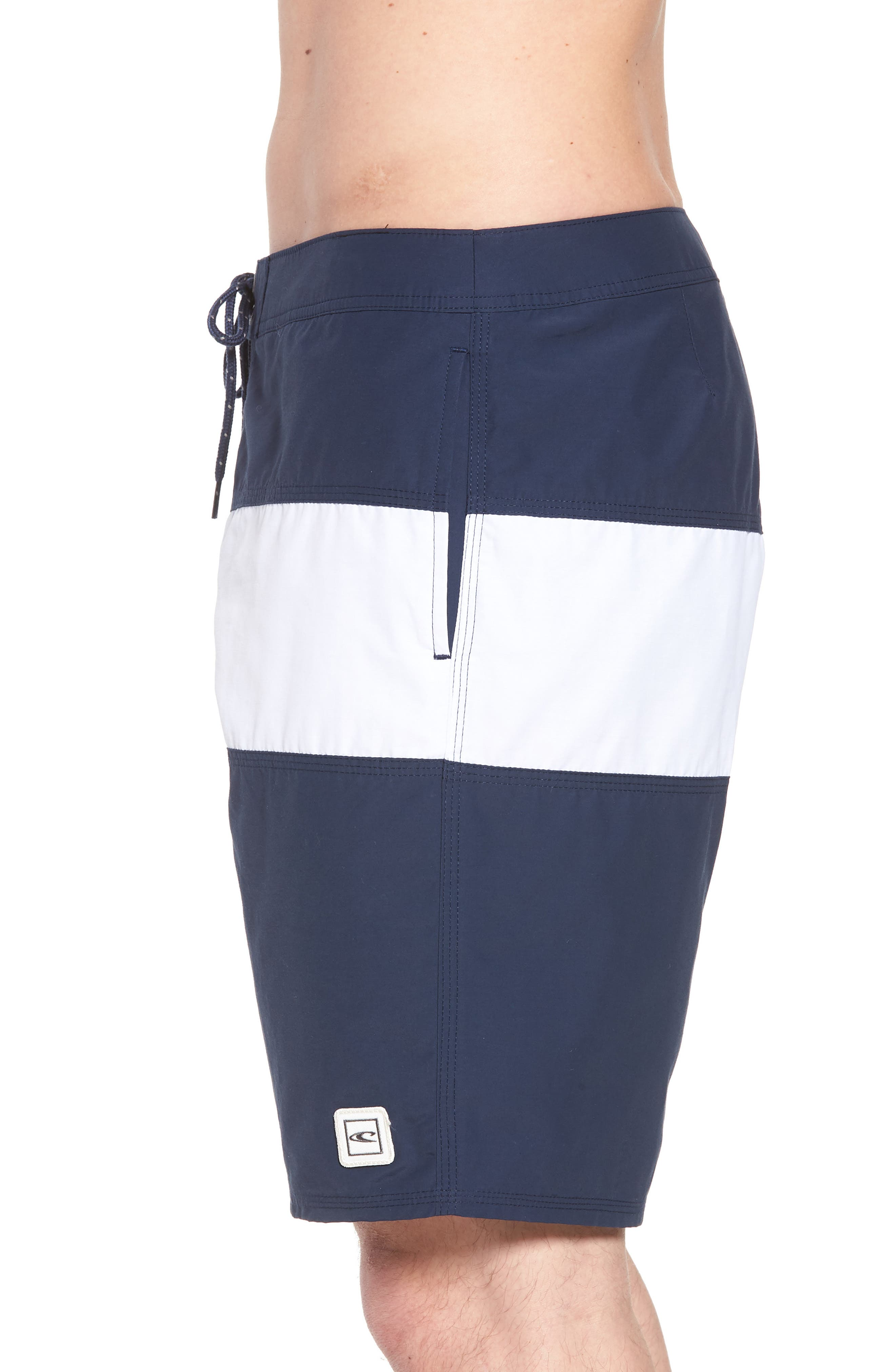 Heritage Board Shorts,                             Alternate thumbnail 3, color,                             NAVY