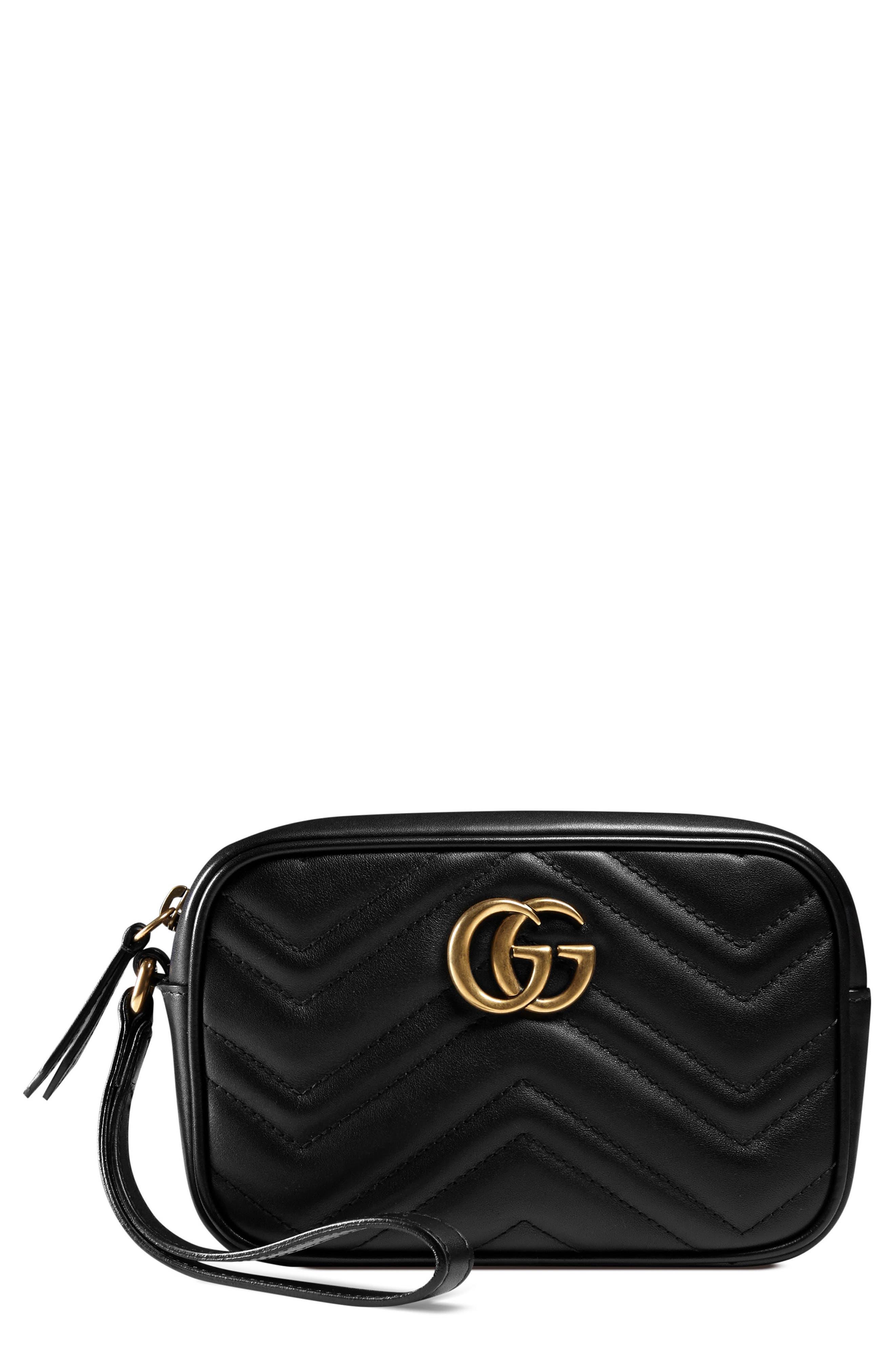 GG Marmont Matelassé Imitation Pearl Leather Shoulder Bag,                         Main,                         color,