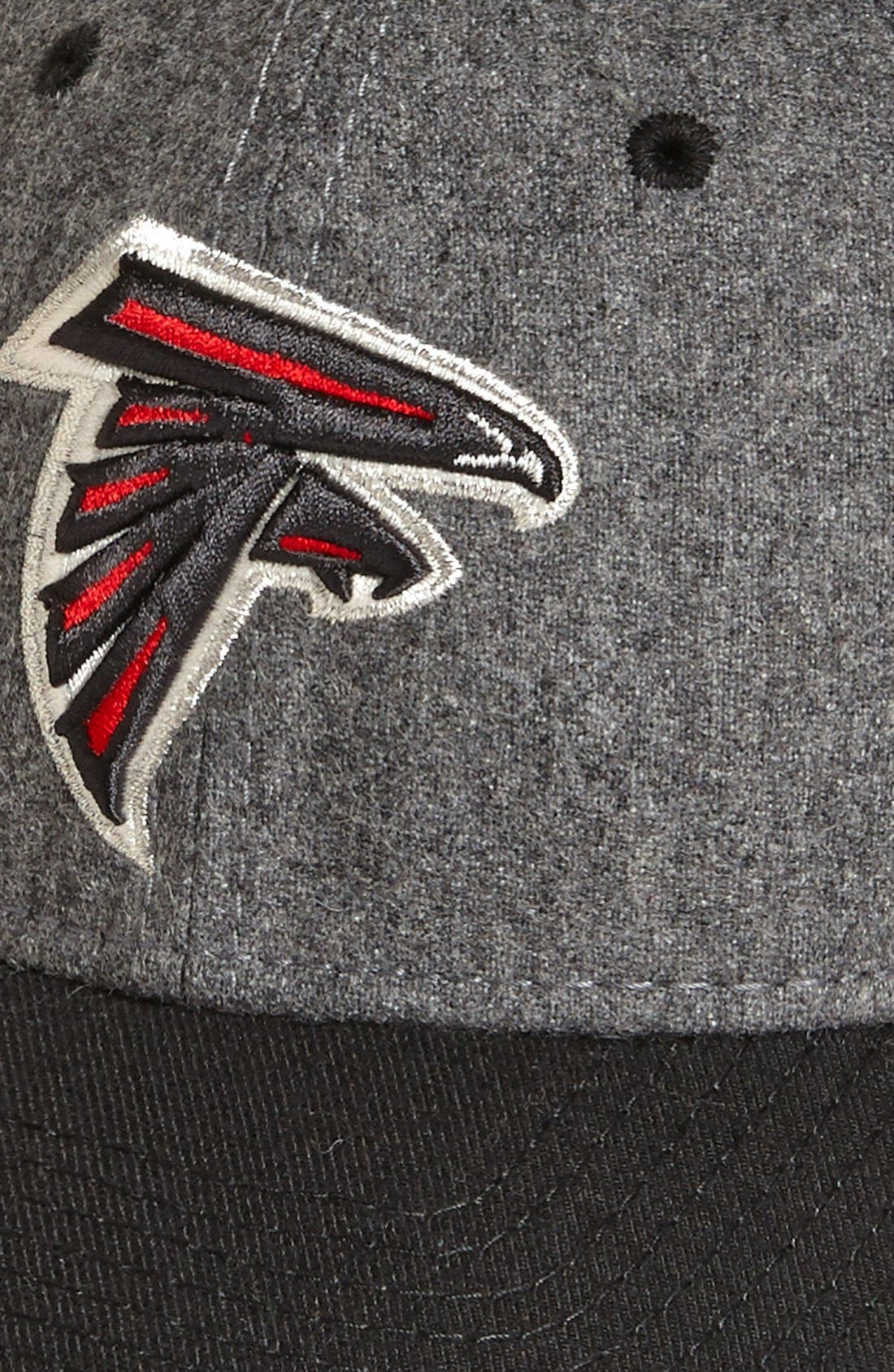 'Meltop - Atlanta Falcons' Fitted Baseball Cap,                             Alternate thumbnail 4, color,                             021