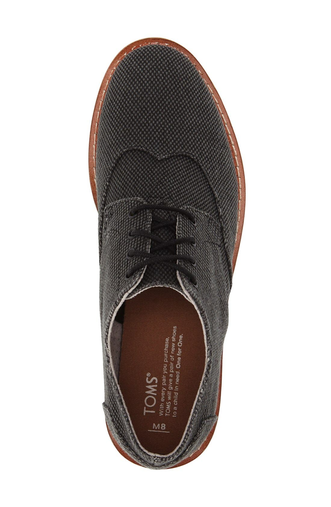 'Classic Brogue' Cotton Twill Derby,                             Alternate thumbnail 32, color,