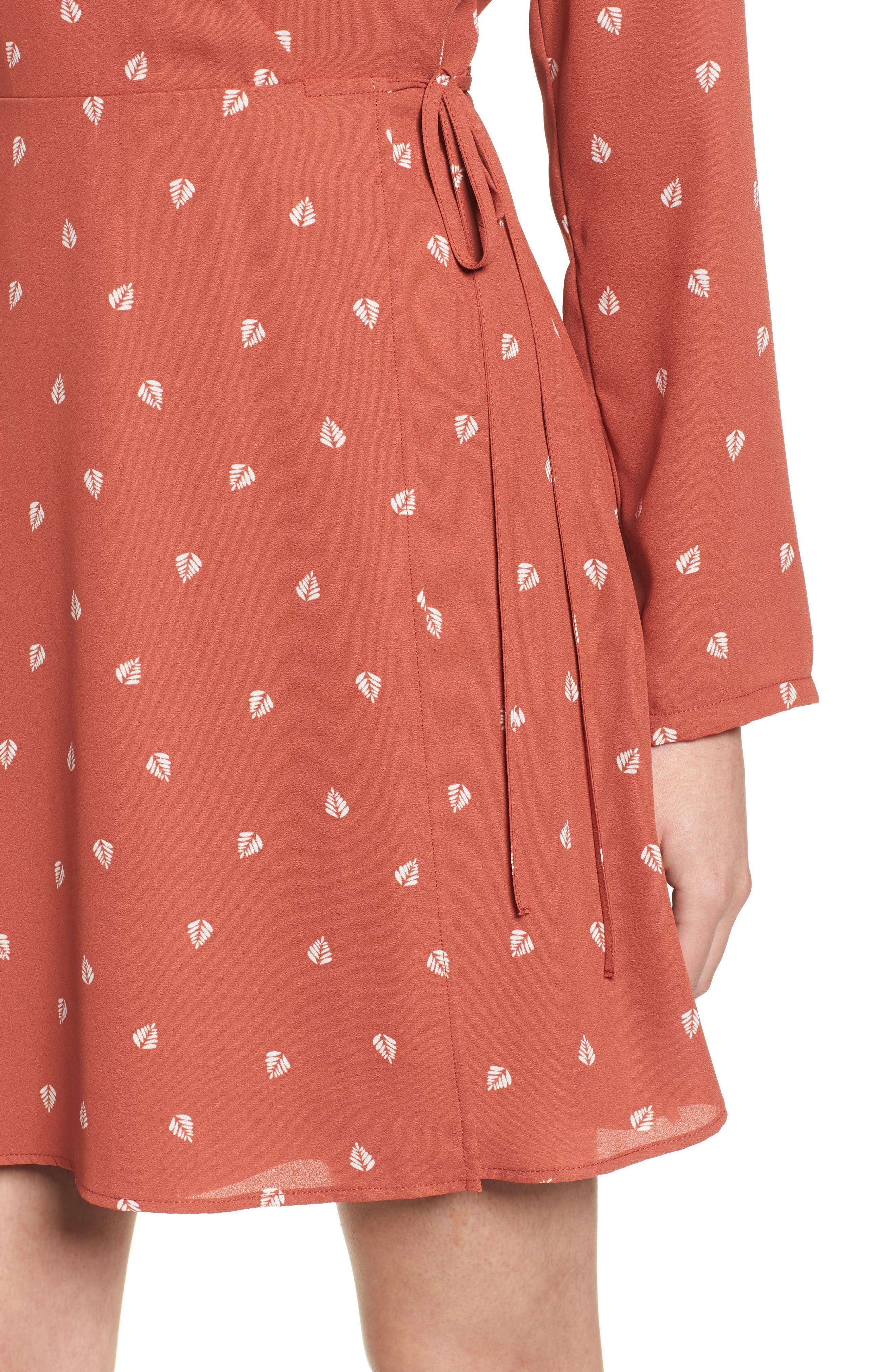 Elly Wrap Dress,                             Alternate thumbnail 48, color,