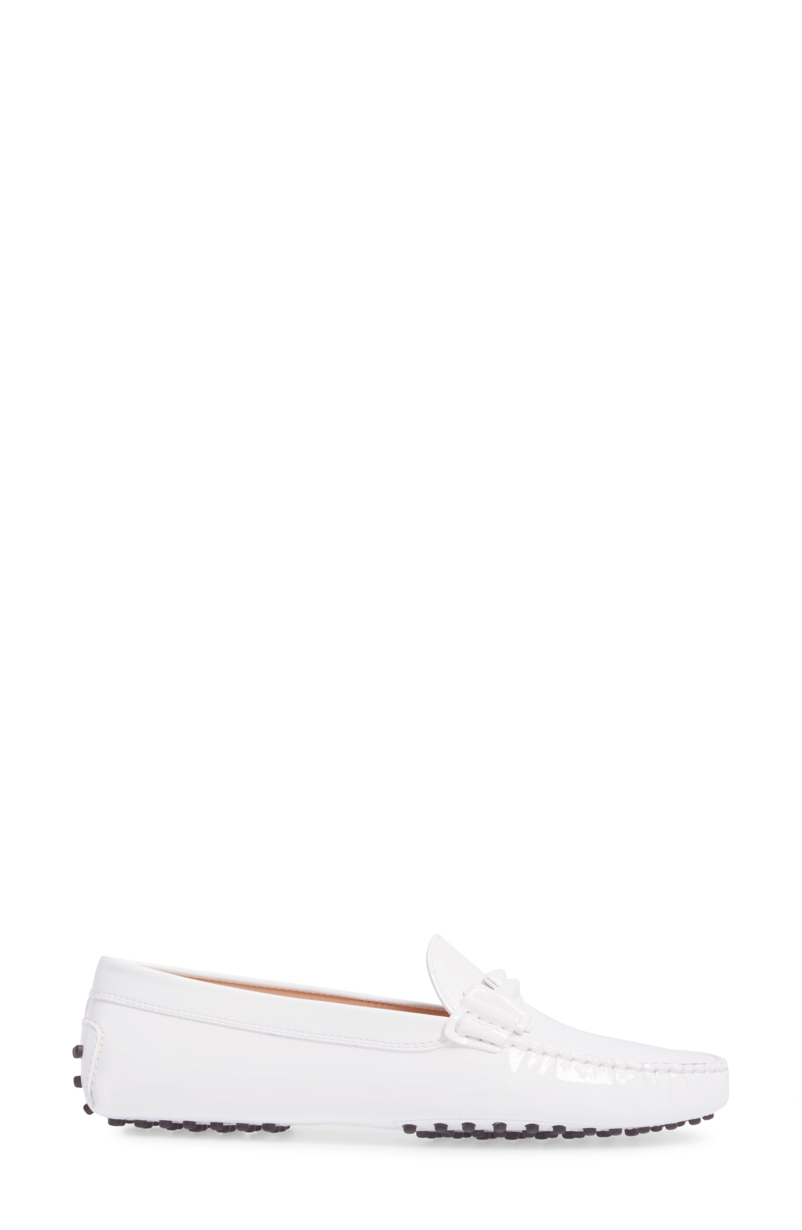 Gommini Covered Double T Loafer,                             Alternate thumbnail 7, color,