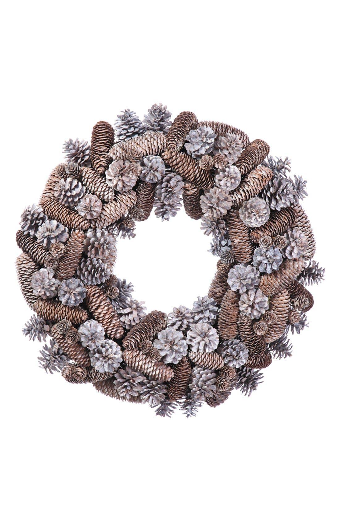 Pinecone Wreath,                         Main,                         color, 200