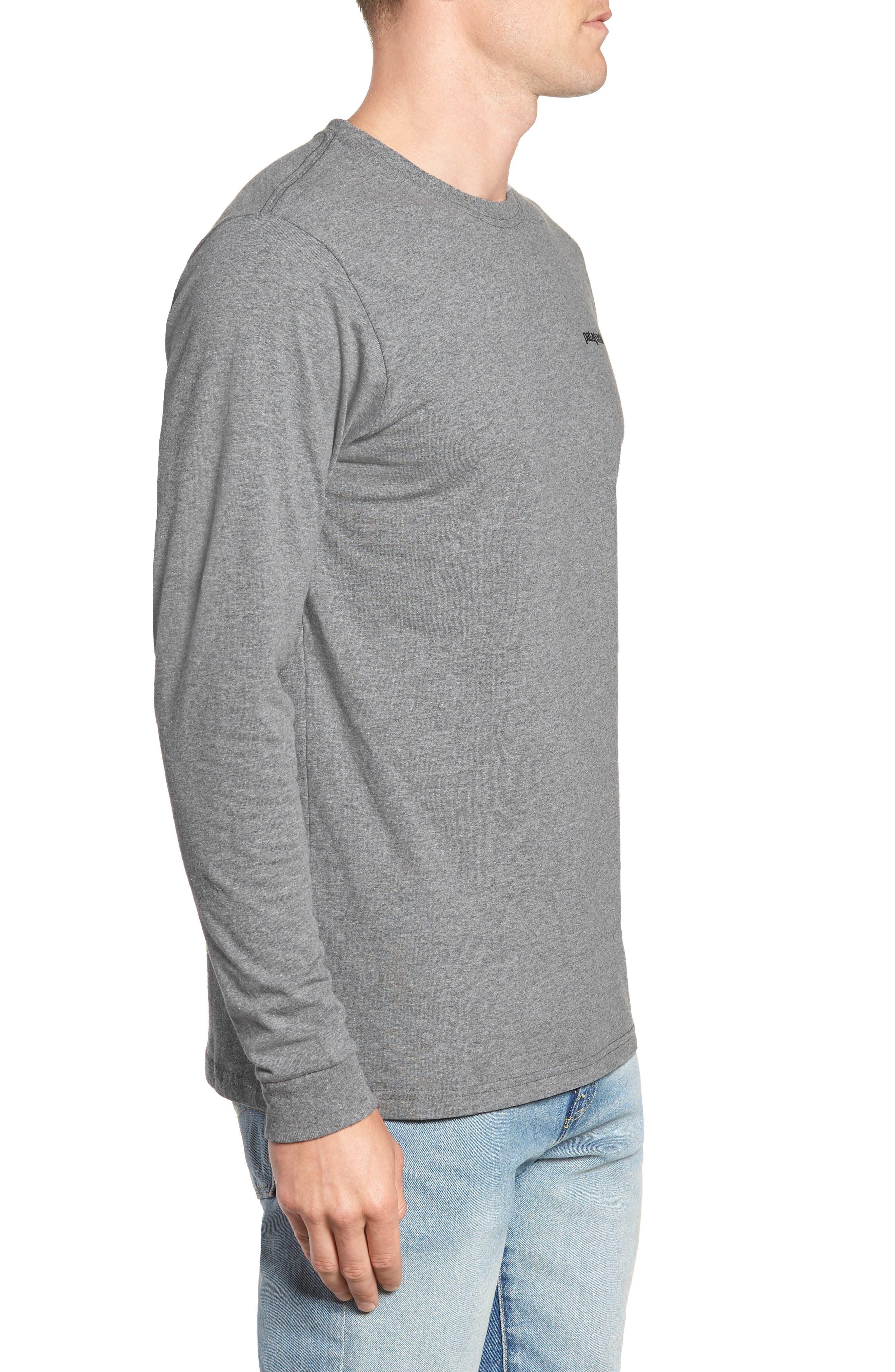 PATAGONIA,                             Fitz Roy Responsibili-Tee Long-Sleeve T-Shirt,                             Alternate thumbnail 3, color,                             020