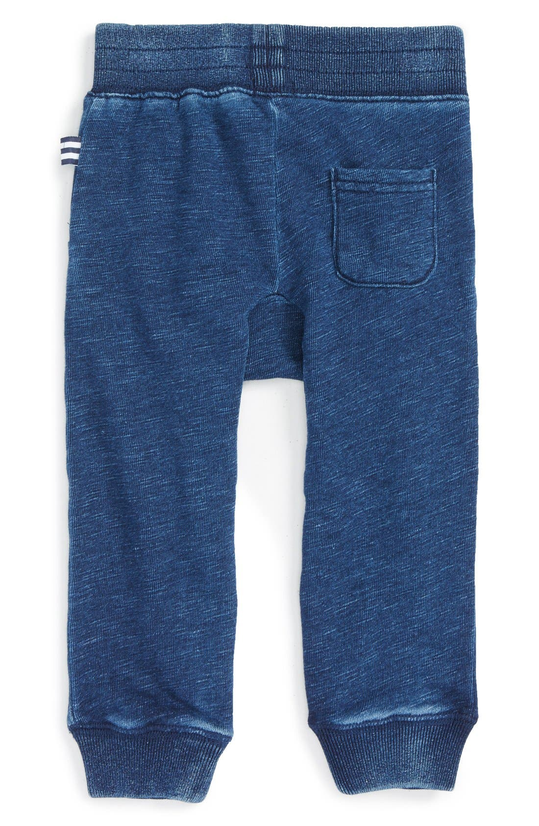 Cotton Blend Jogger Pants,                             Alternate thumbnail 3, color,