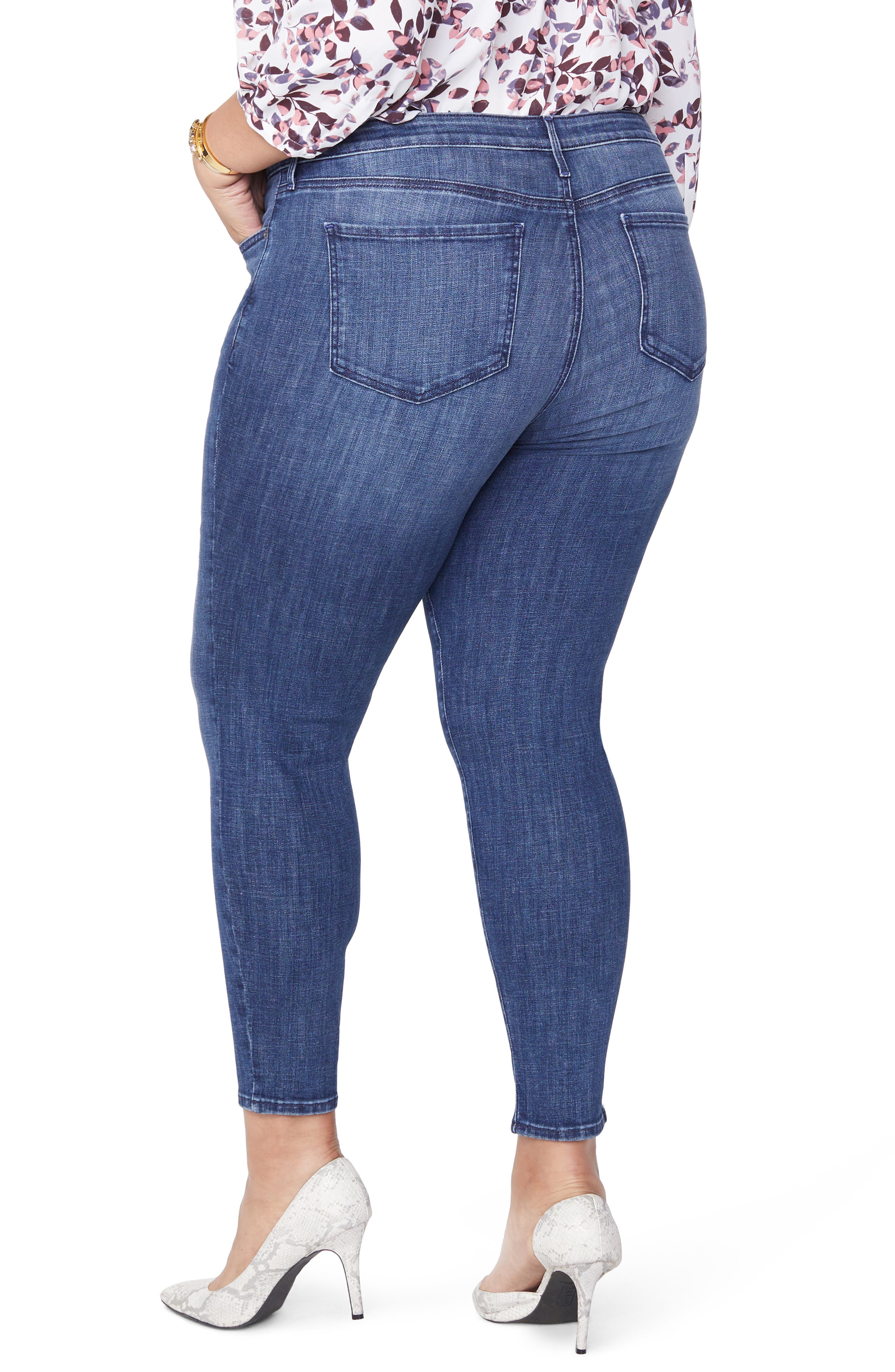 Ami Skinny Jeans,                             Alternate thumbnail 2, color,                             LUPINE
