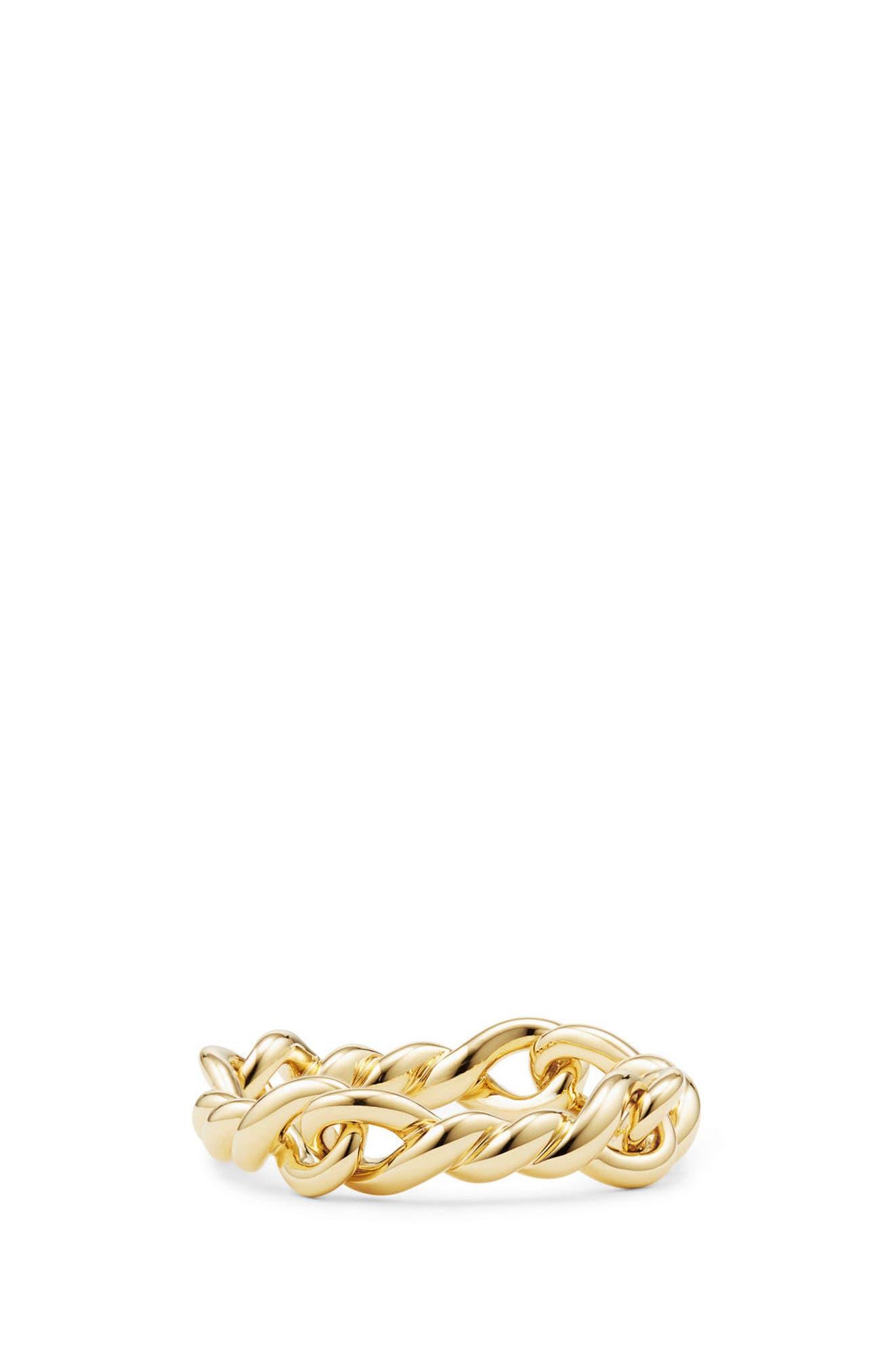 DAVID YURMAN,                             Continuance Ring in 18K Gold,                             Main thumbnail 1, color,                             YELLOW GOLD