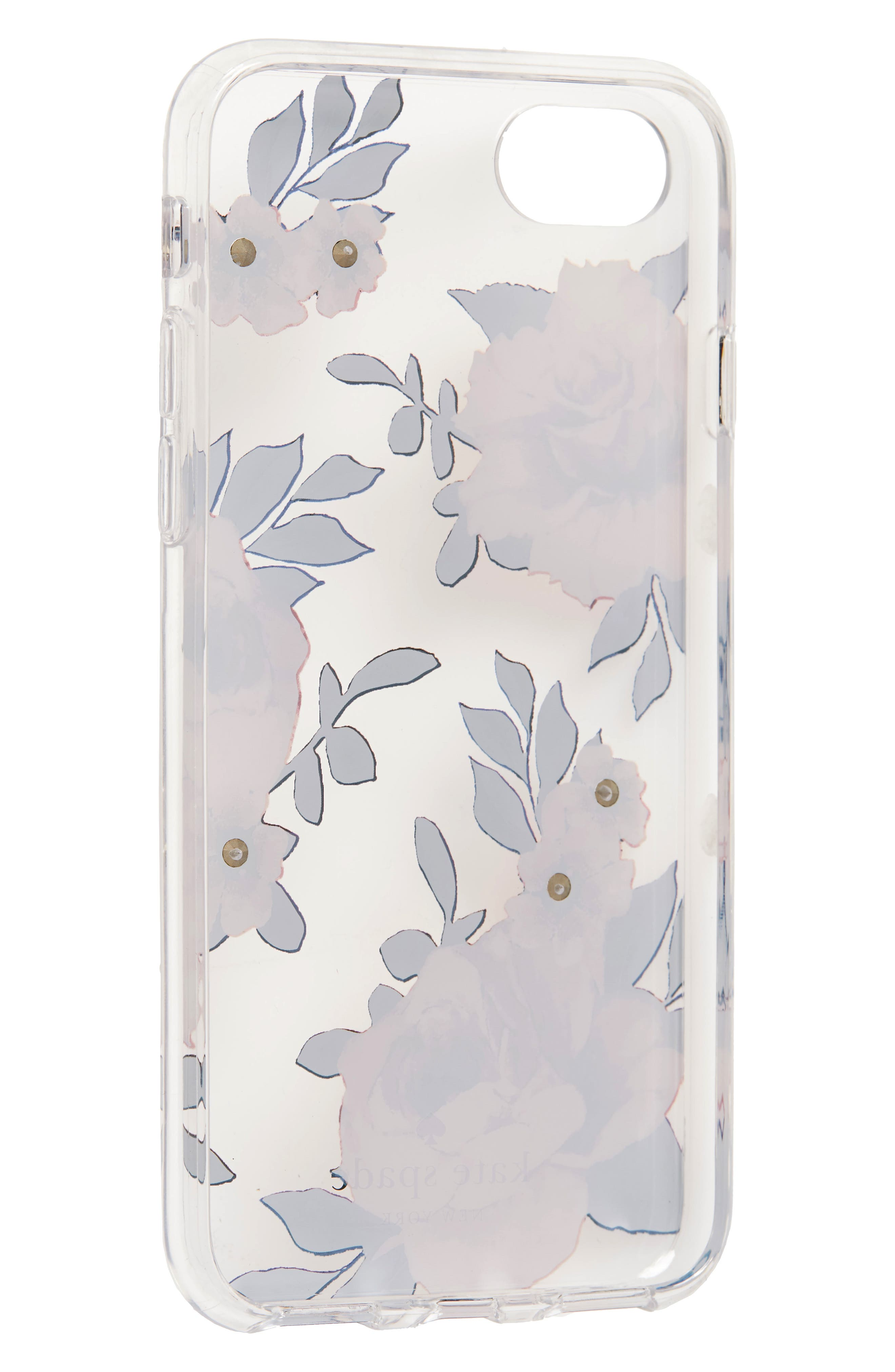 crystal prairie rose iPhone 7/8 & 7/8 Plus case,                             Alternate thumbnail 2, color,                             650