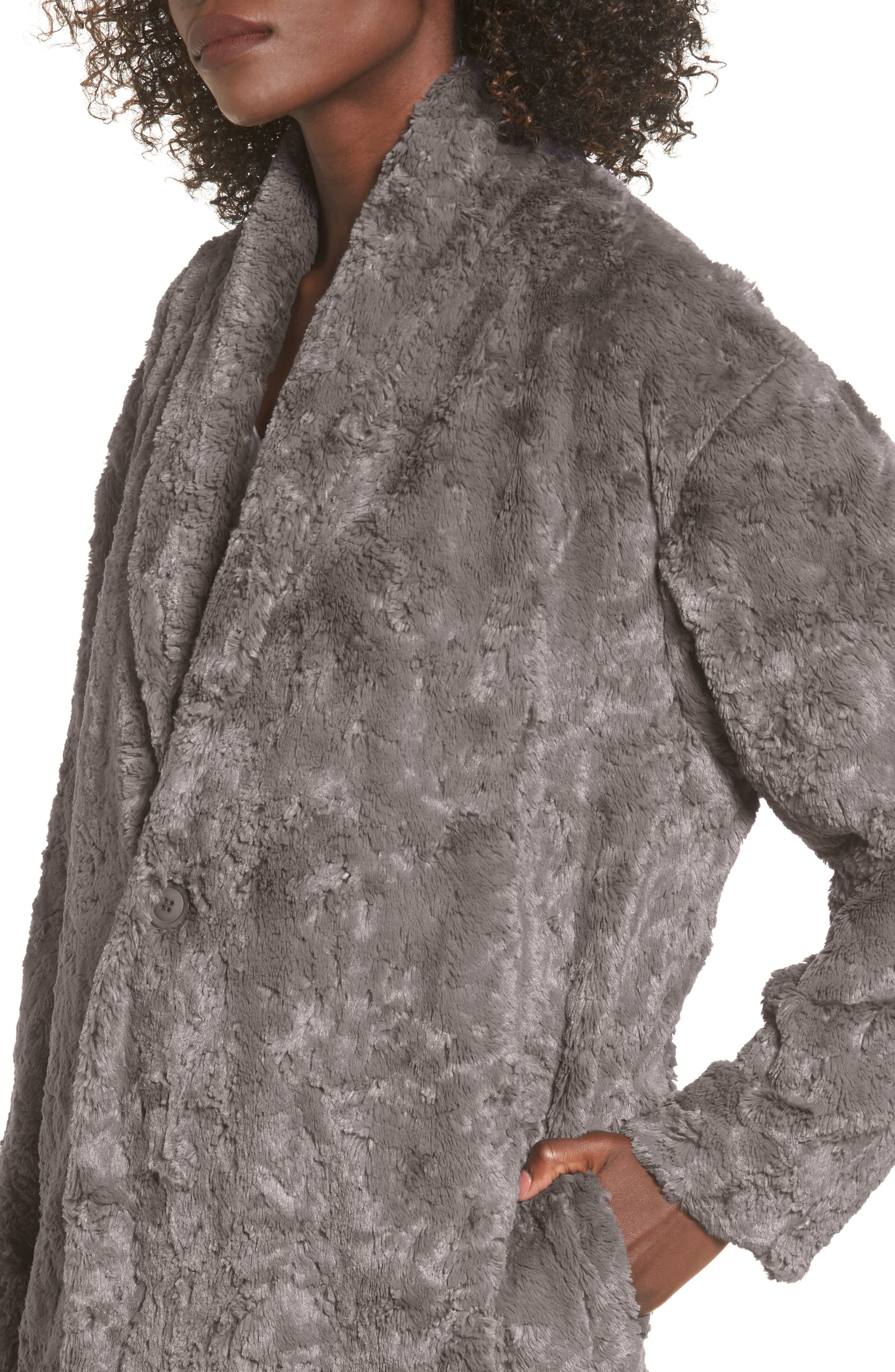 Skylar Faux Fur Jacket,                             Alternate thumbnail 4, color,                             021
