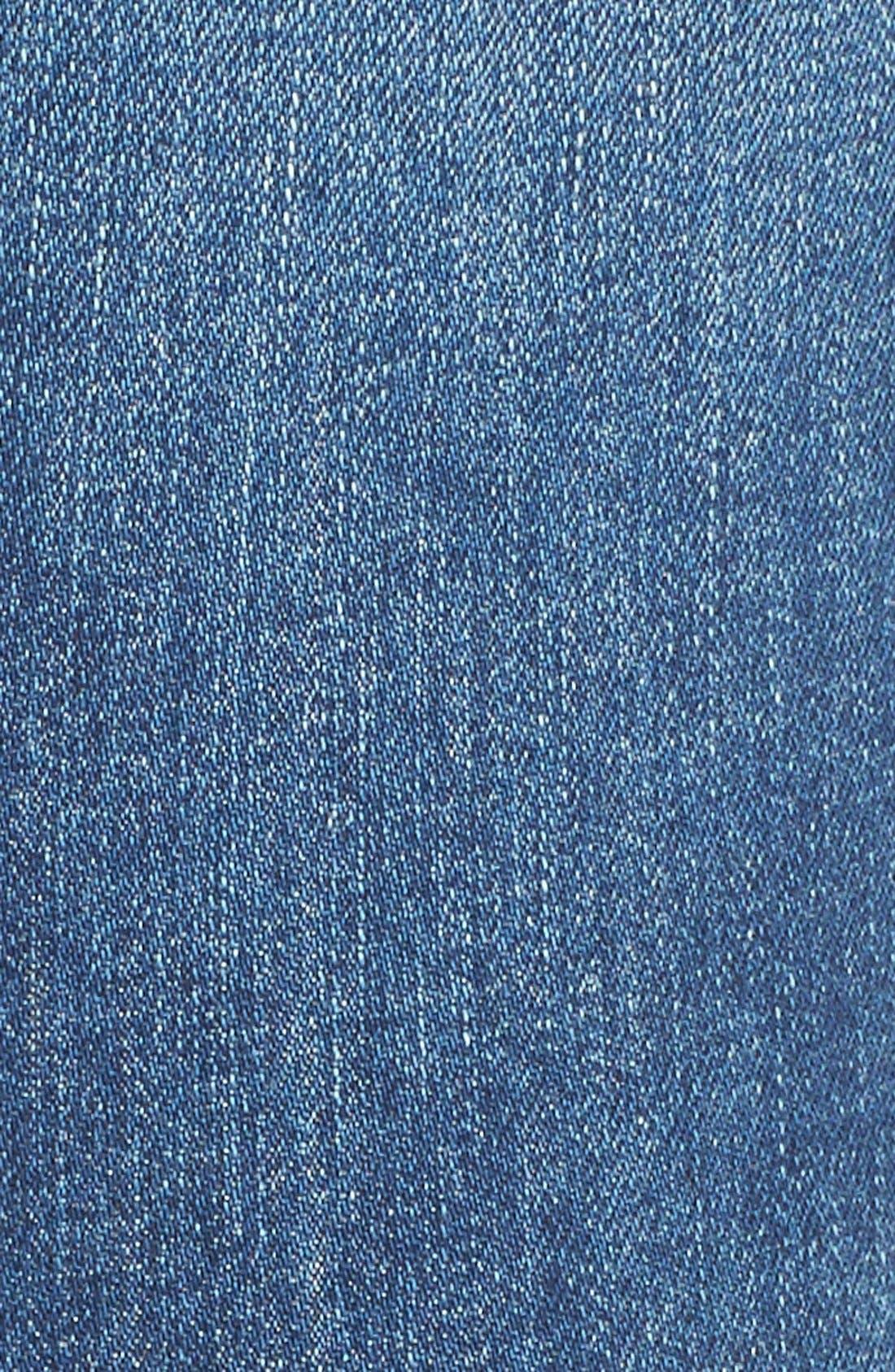 'Dre' Distressed Slim Boyfriend Jeans,                             Alternate thumbnail 2, color,                             423