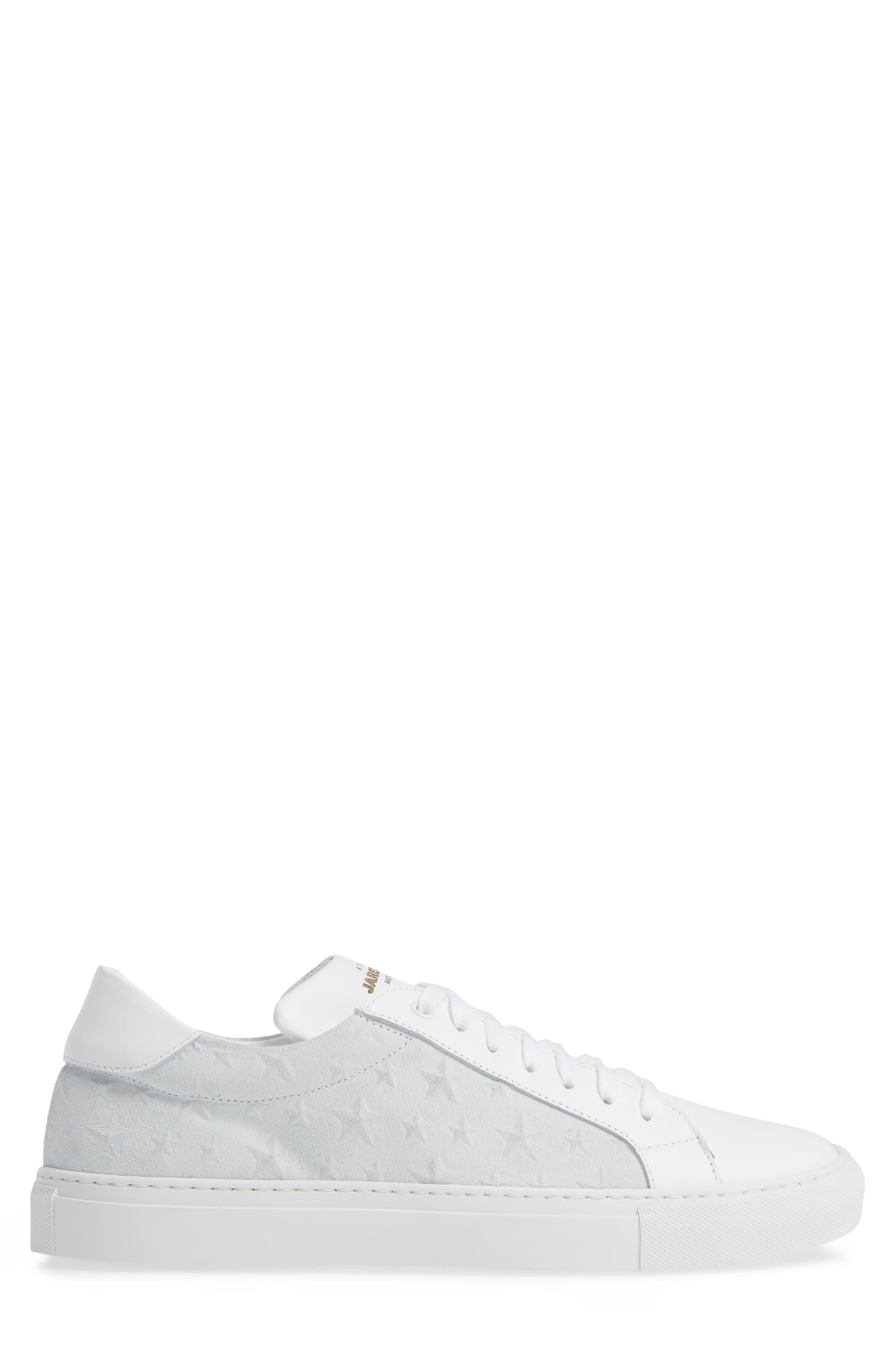 Rome Sneaker,                             Alternate thumbnail 3, color,                             WHITE