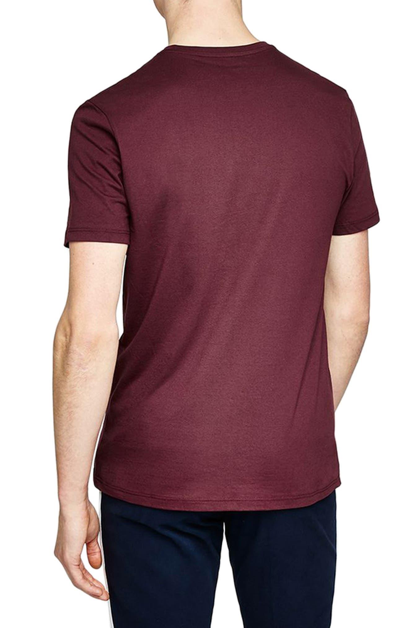 Slim Fit Crewneck T-Shirt,                             Alternate thumbnail 117, color,