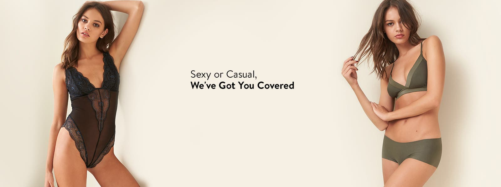 Sexy or casual: we've got you covered.