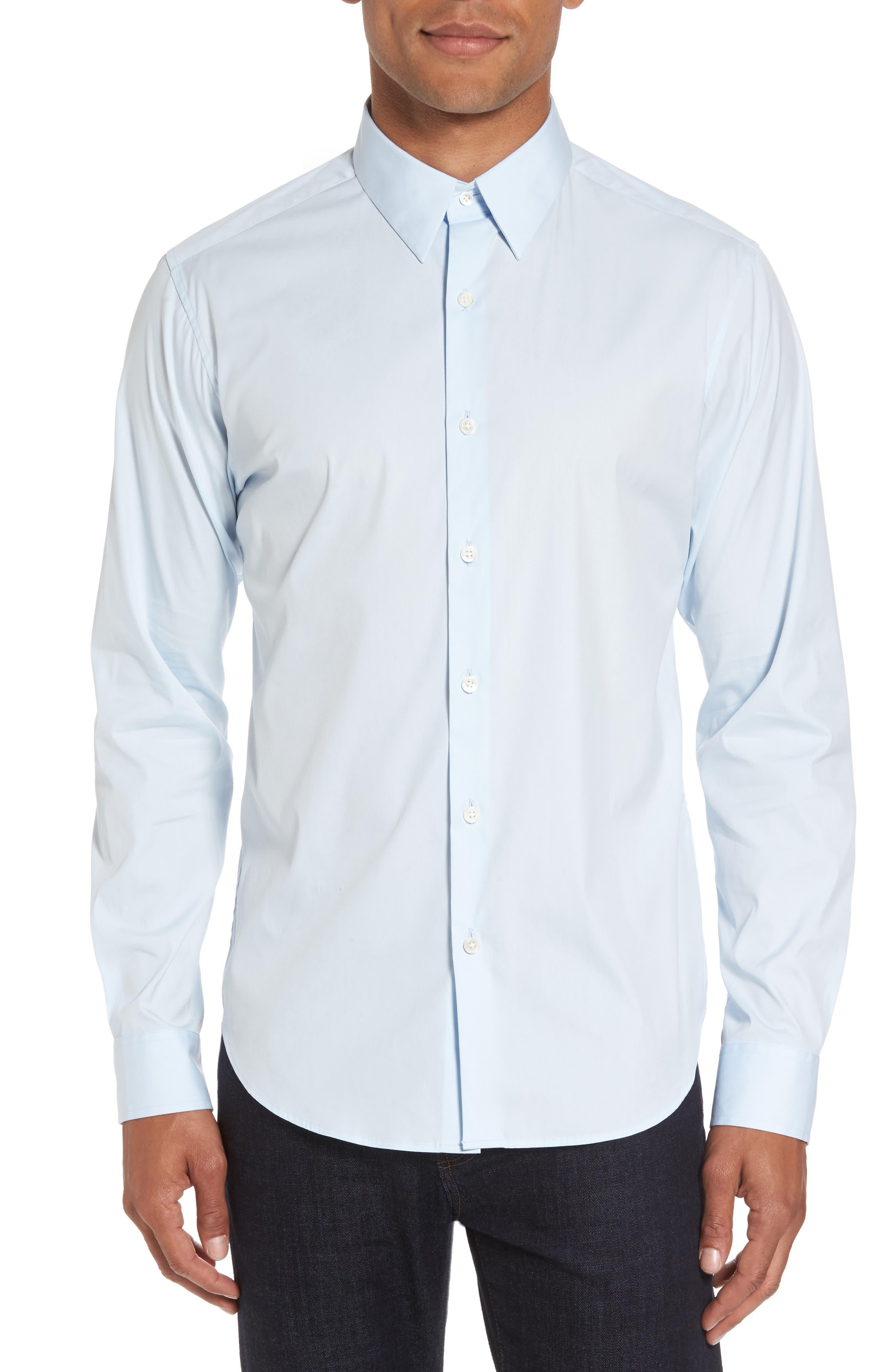 'Sylvain Wealth' Trim Fit Sport Shirt,                             Alternate thumbnail 2, color,                             426