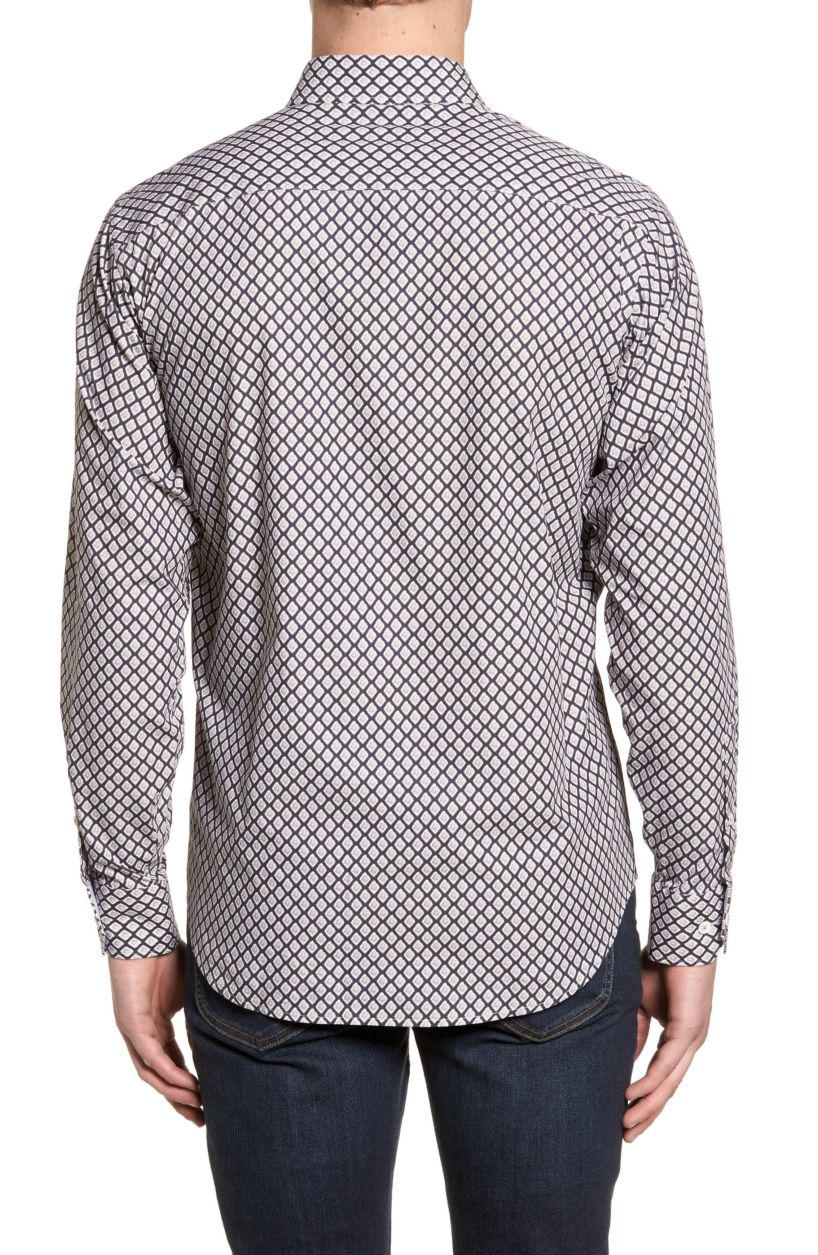 Classic Fit Woven Sport Shirt,                             Alternate thumbnail 2, color,                             271