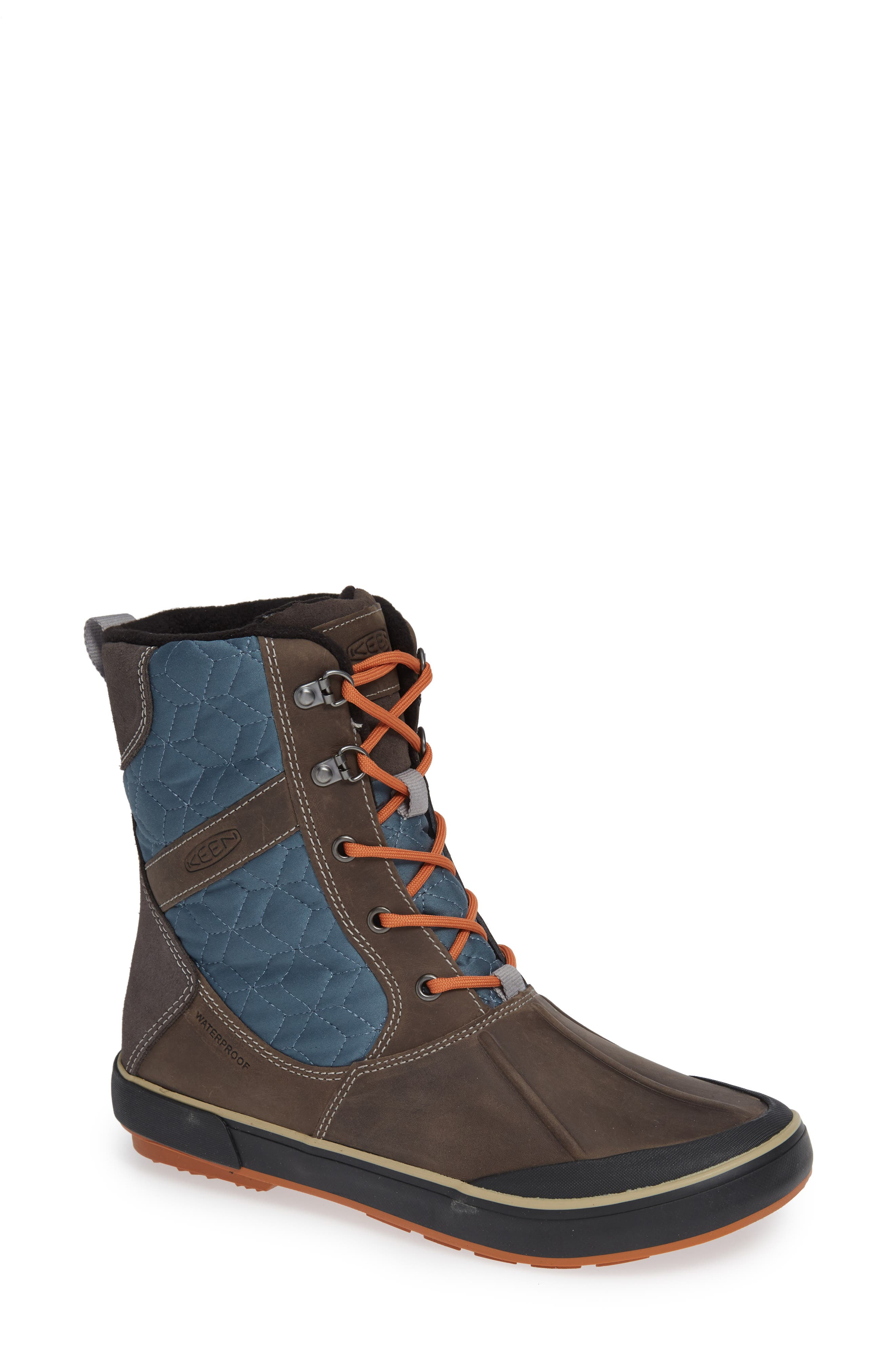 Keen Elsa Ii Waterproof Winter Bootie- Grey