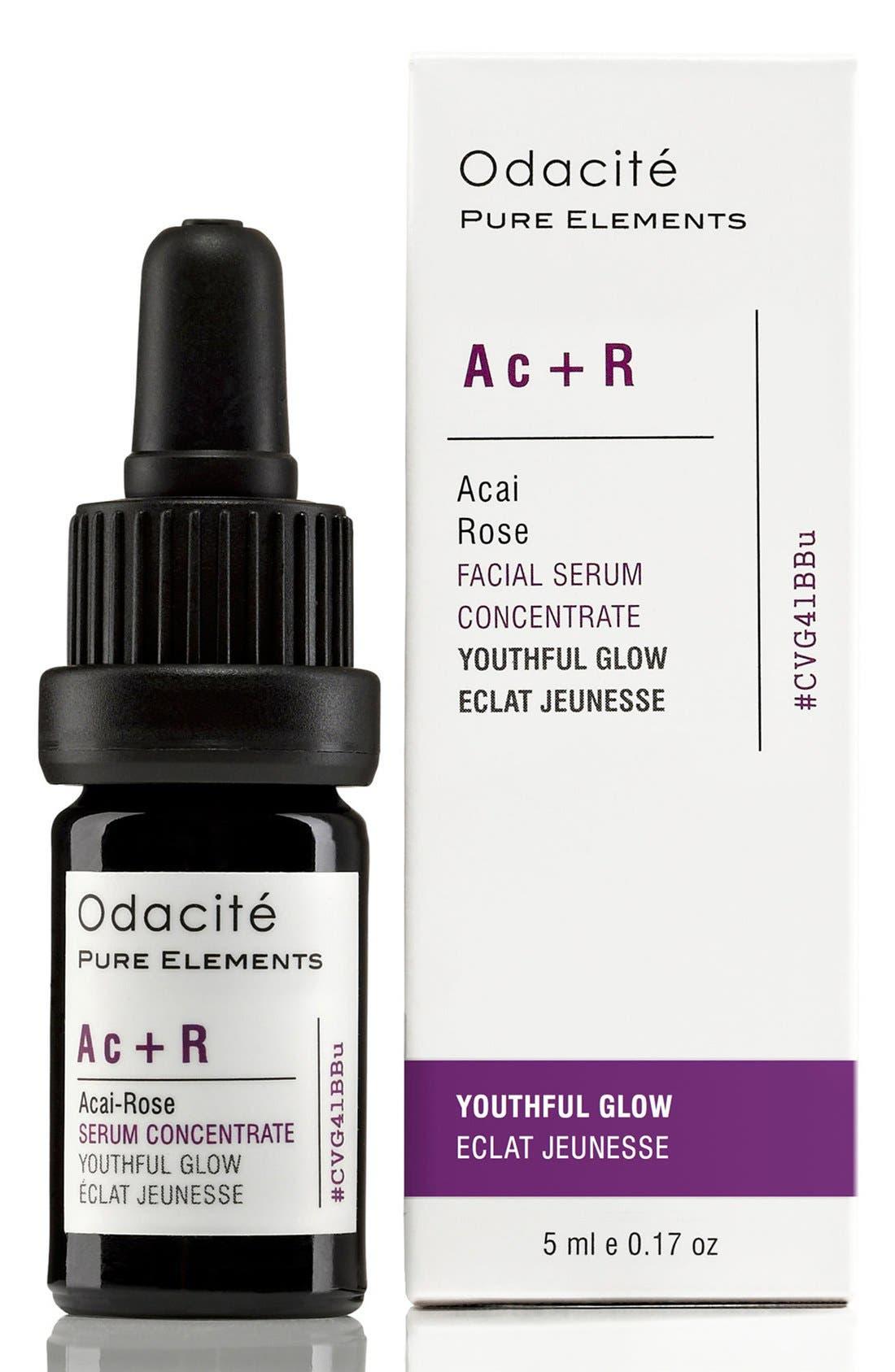 Ac + R Açai-Rose Youthful Glow Facial Serum Concentrate,                             Alternate thumbnail 3, color,                             NO COLOR