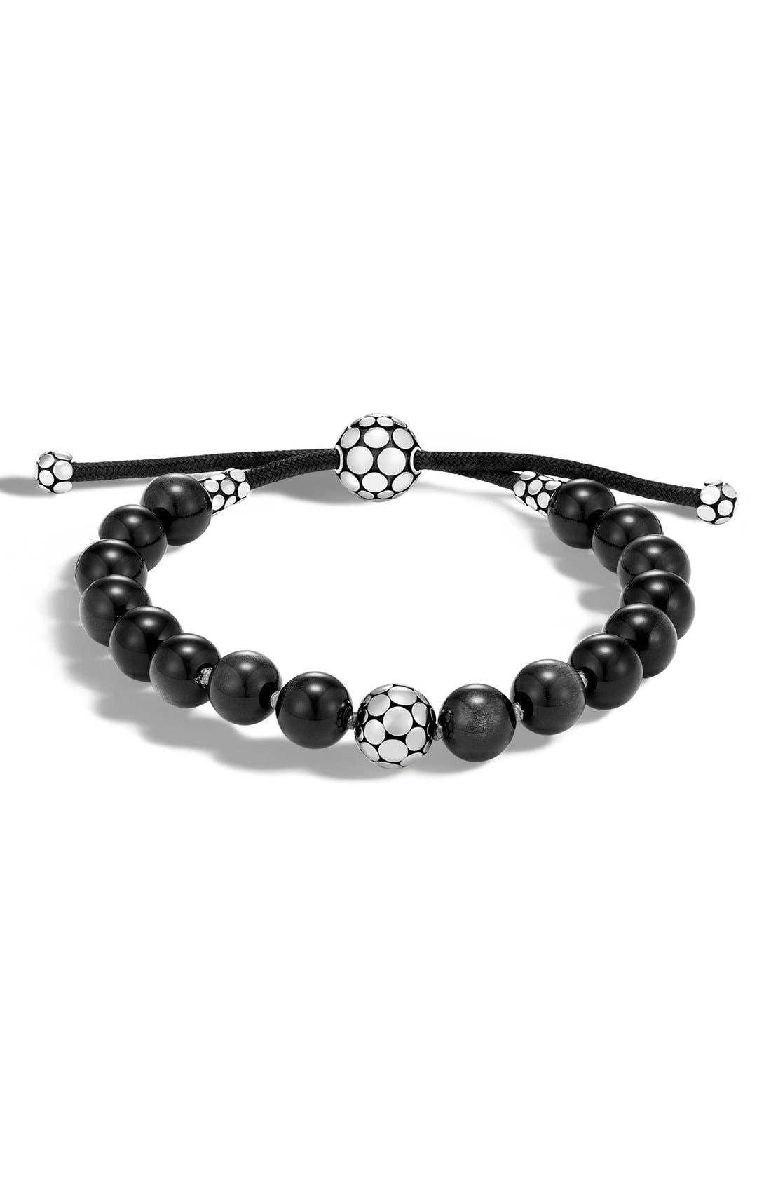 Dot Bead Bracelet,                         Main,                         color, 200