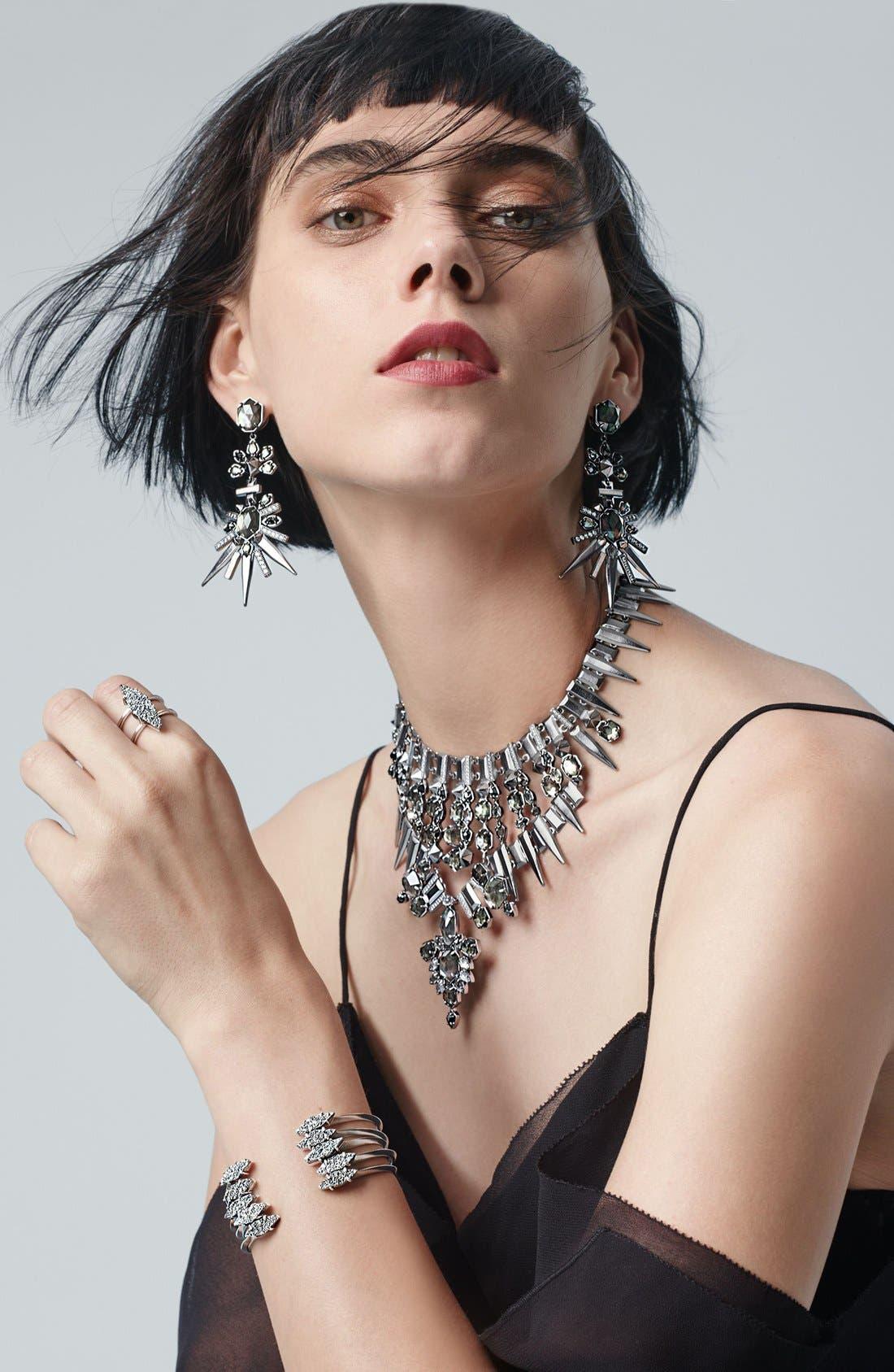'Isadora' Jewel Drop Earrings,                             Alternate thumbnail 2, color,                             040