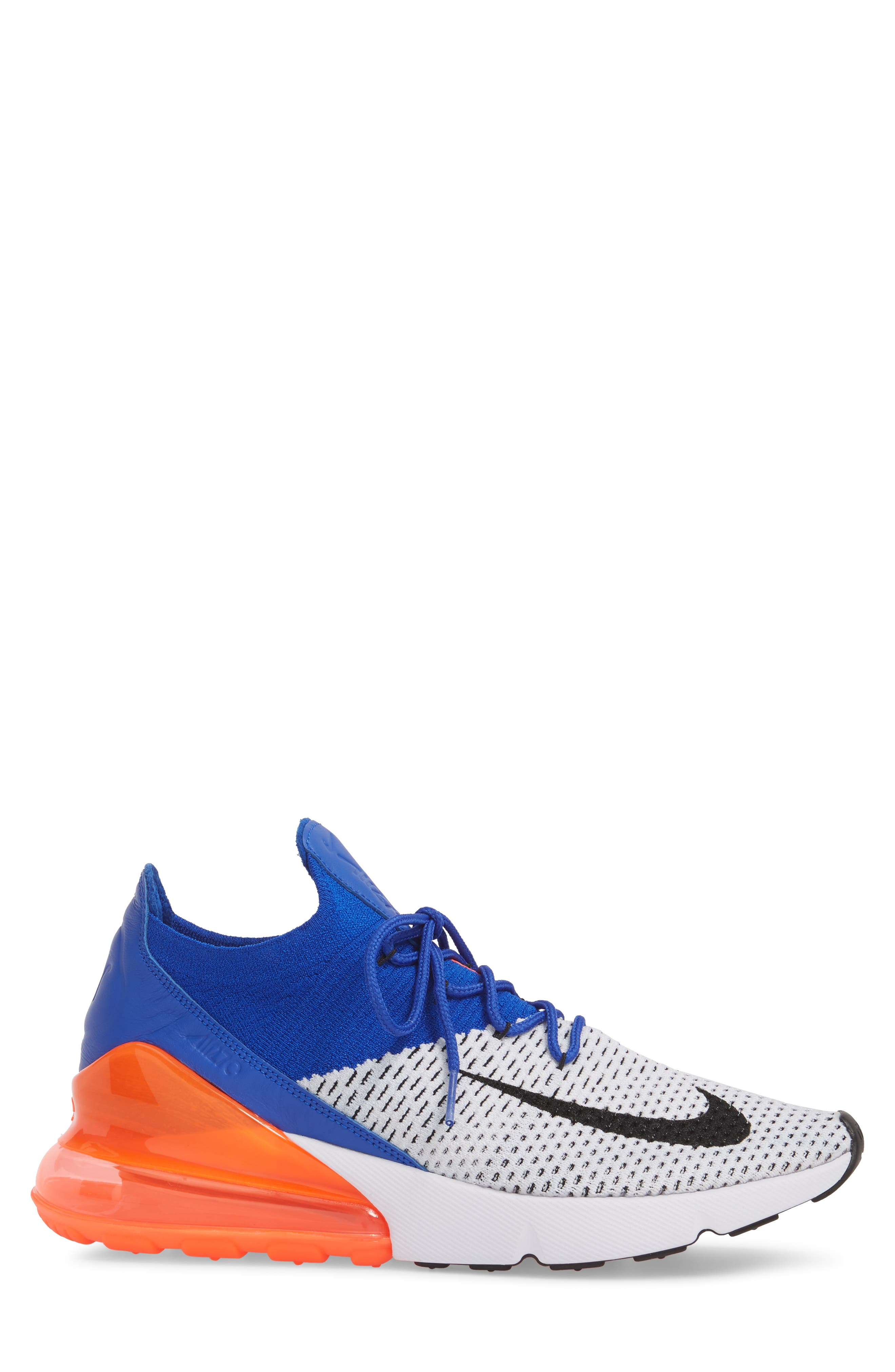 Air Max 270 Flyknit Sneaker,                             Alternate thumbnail 17, color,
