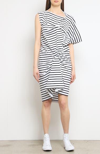 Asymmetrical Stripe Dress, video thumbnail