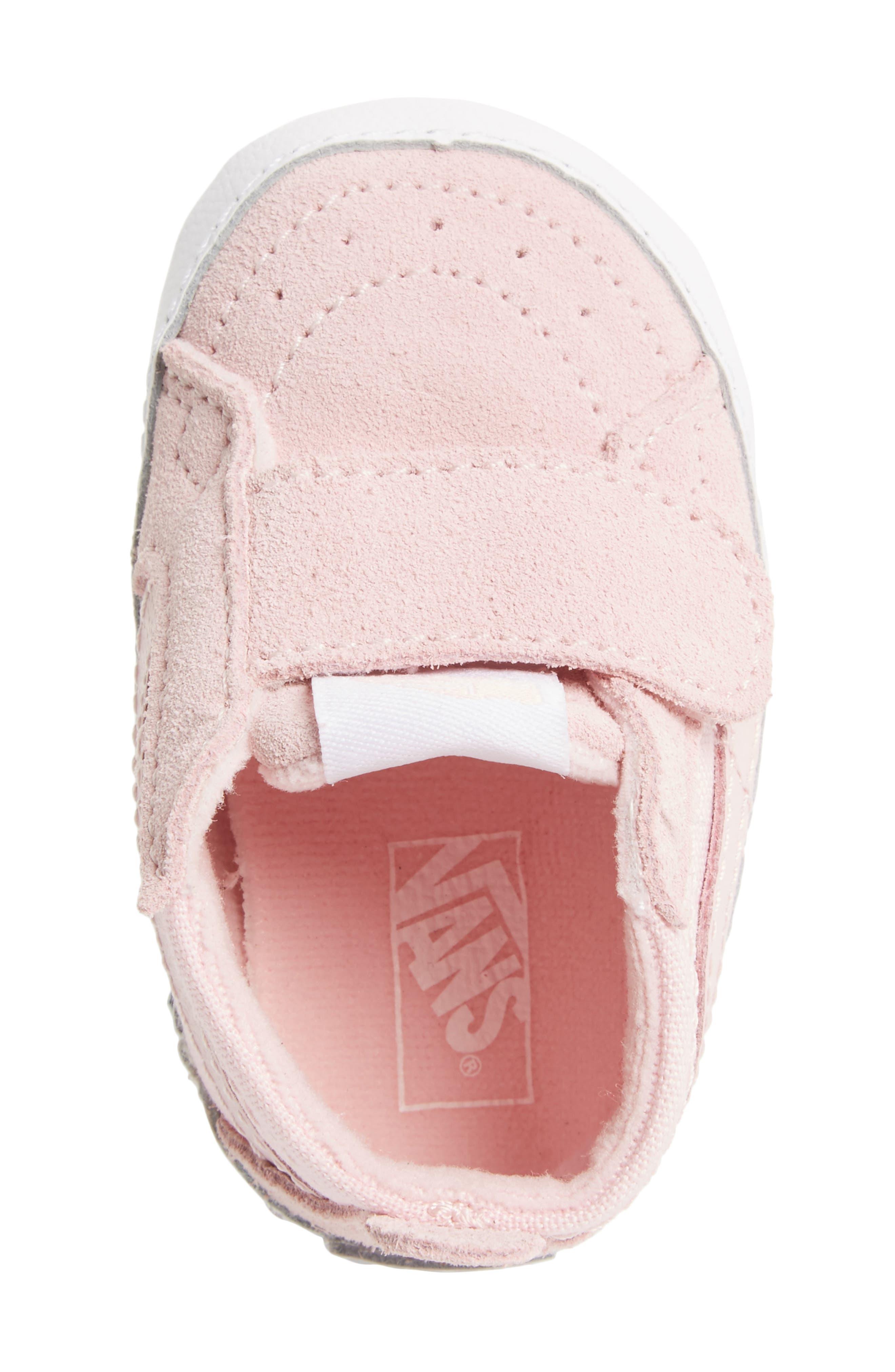 SK8-Hi Crib Sneaker,                             Alternate thumbnail 5, color,