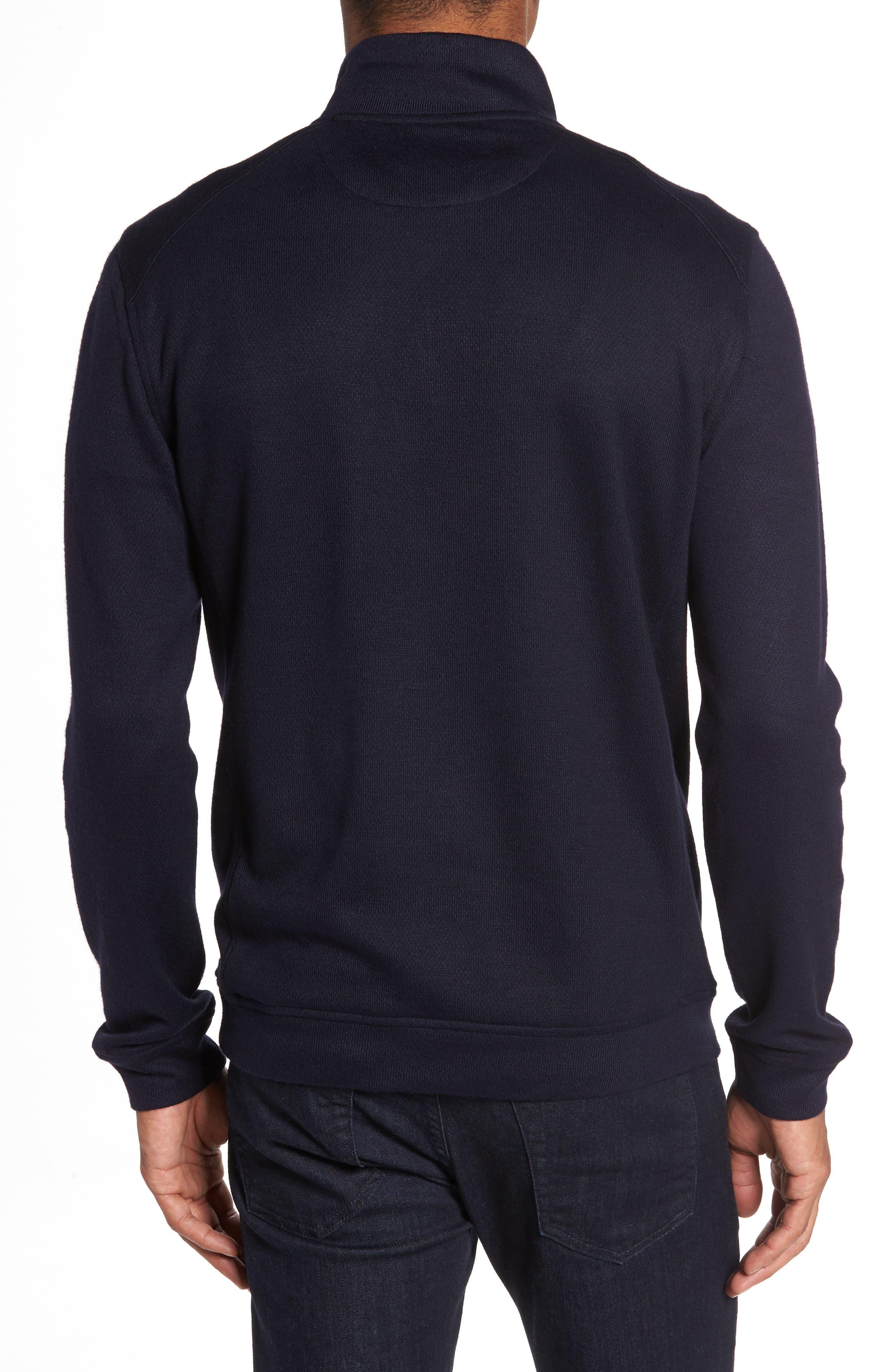Dotkot Slim Fit Quarter Zip Pullover,                             Alternate thumbnail 2, color,                             410