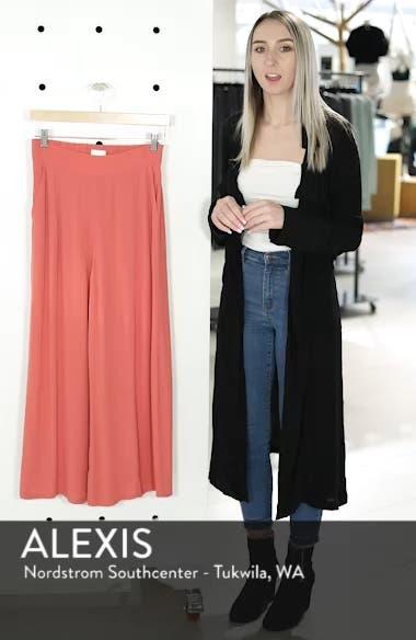 High Waist Crop Wide Leg Pants, sales video thumbnail