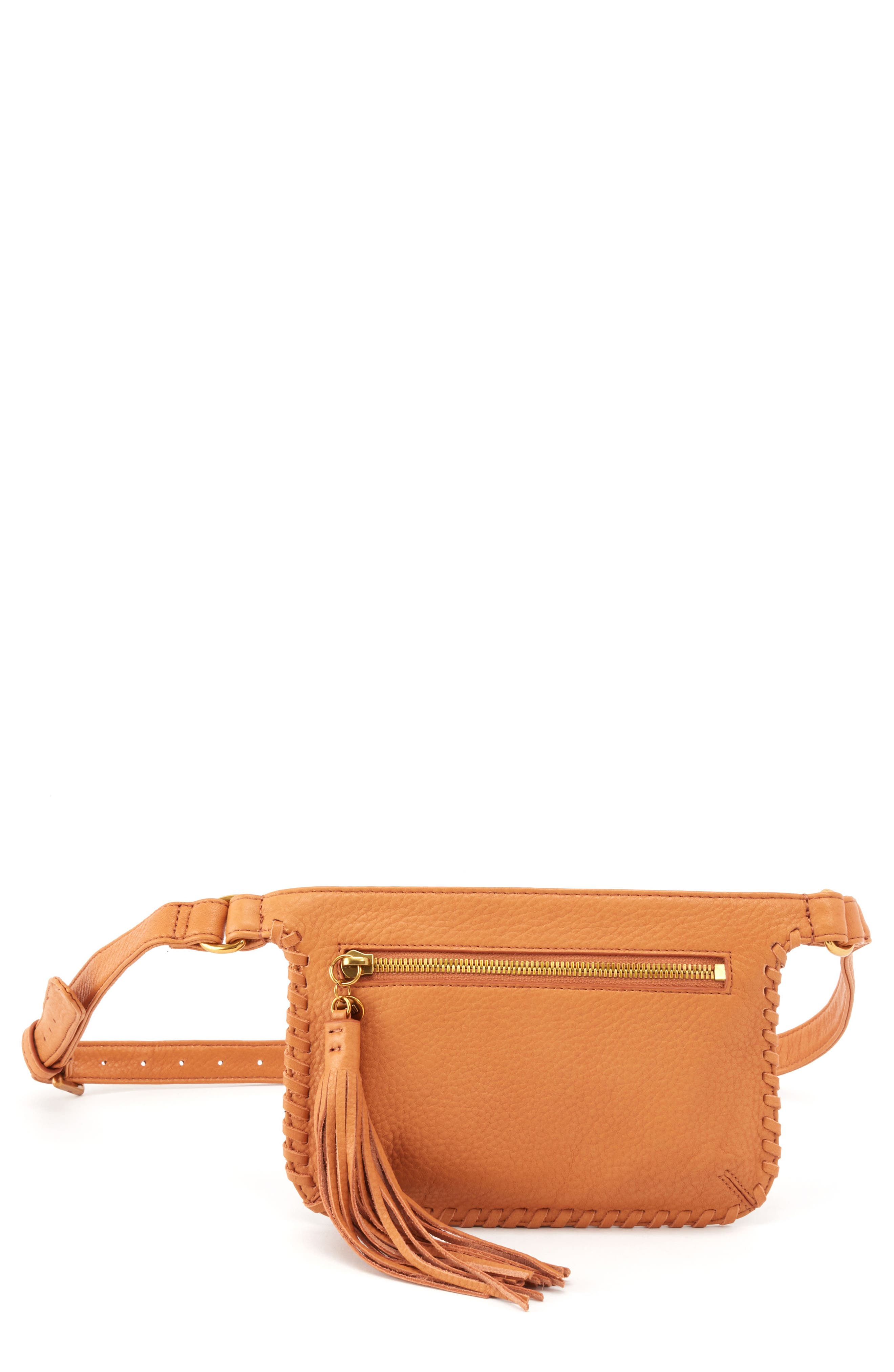 Twig Belt Bag, Main, color, WHISKEY