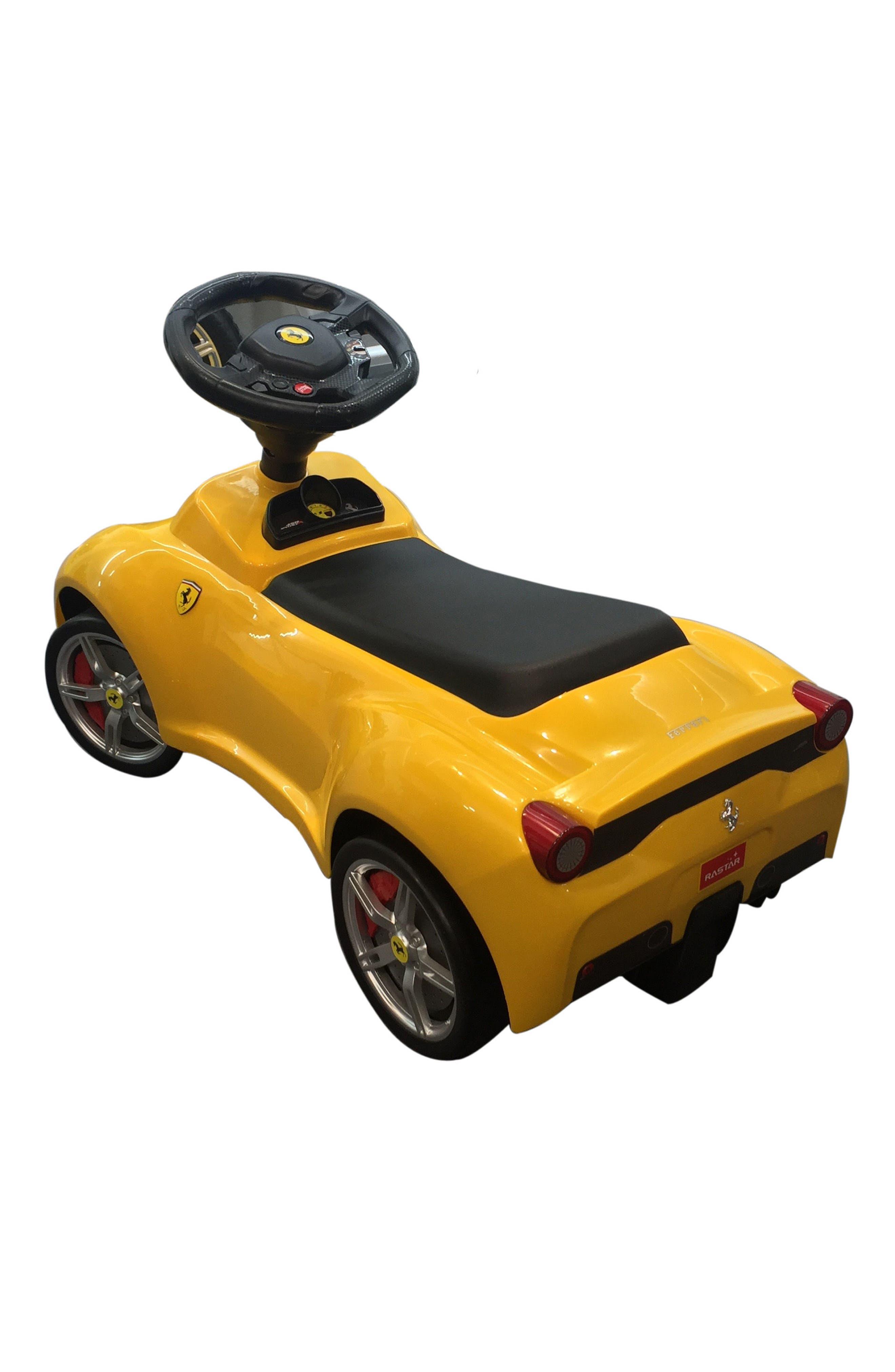 Ferrari Ride-On Push Car,                             Alternate thumbnail 2, color,                             700