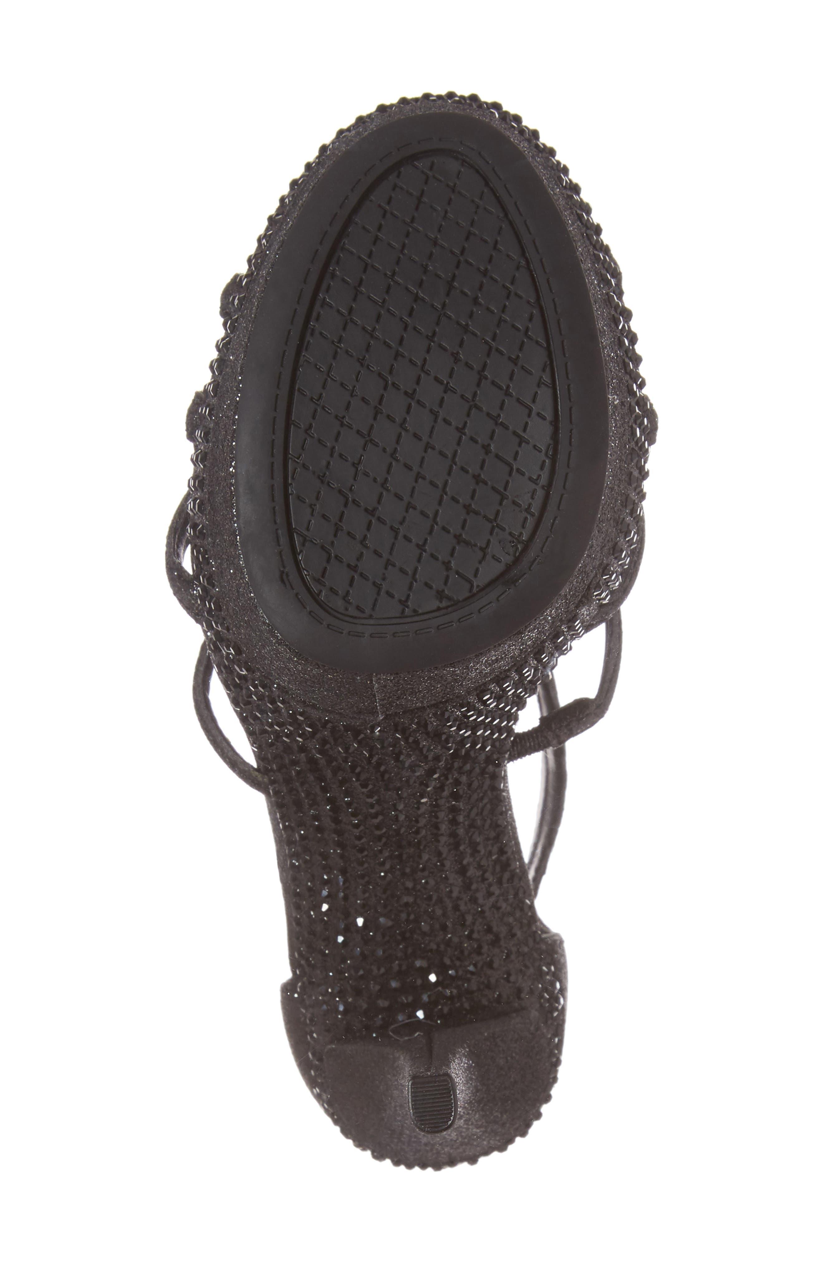 Rozmari Platform Sandal,                             Alternate thumbnail 6, color,                             001