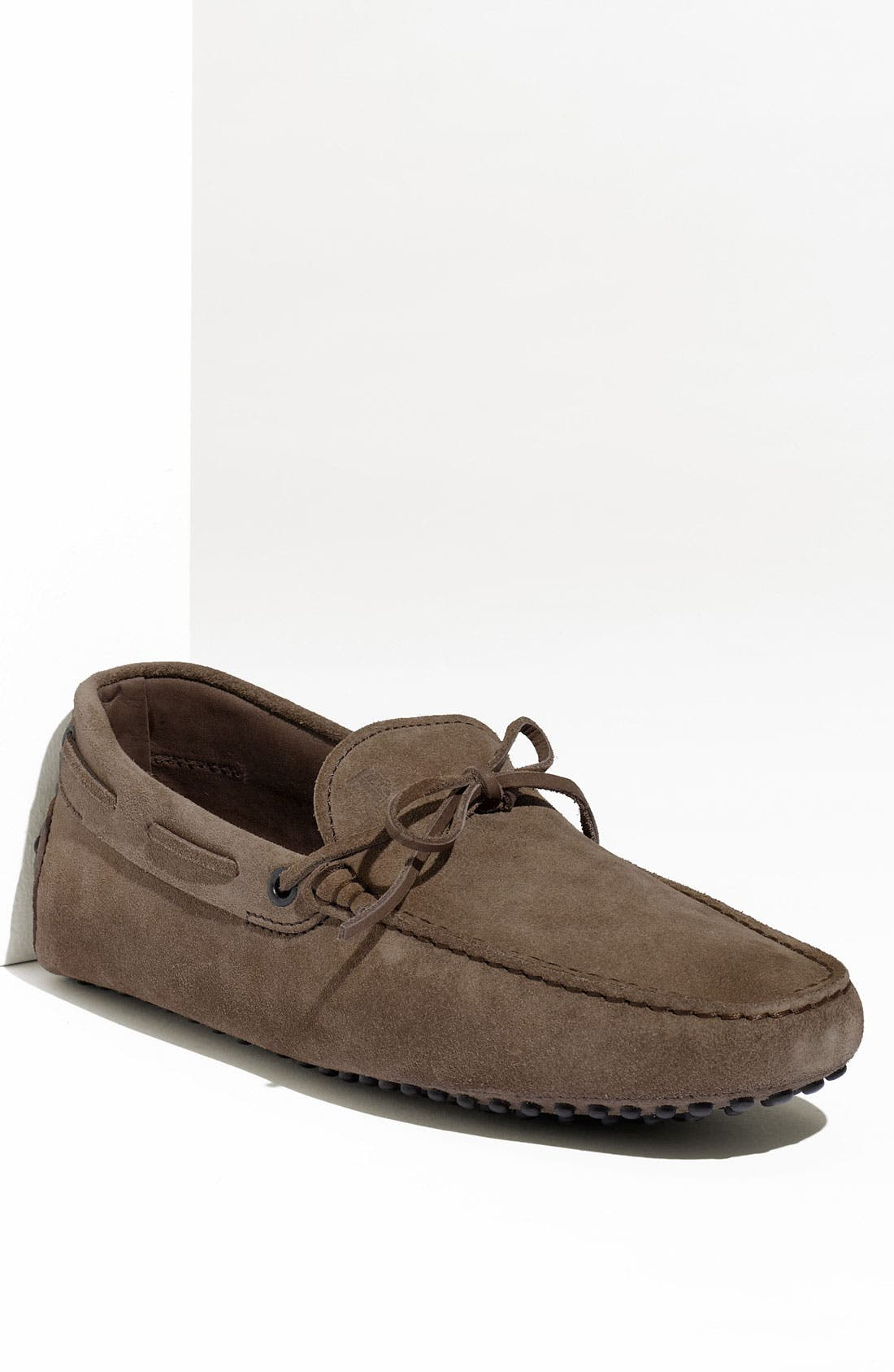 Gommini Tie Front Driving Moccasin,                             Main thumbnail 5, color,