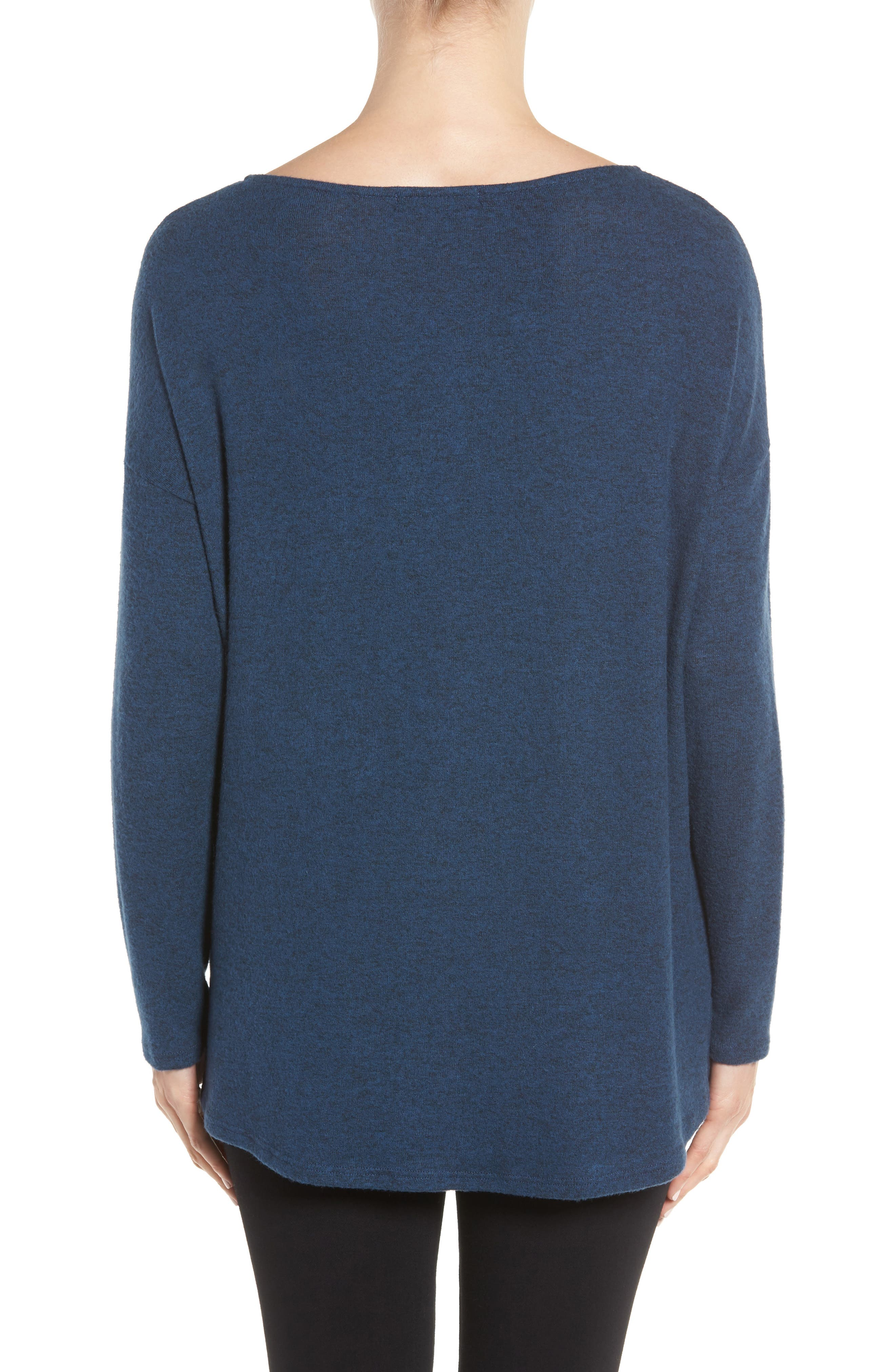 Cozy Ballet Neck High/Low Pullover,                             Alternate thumbnail 47, color,