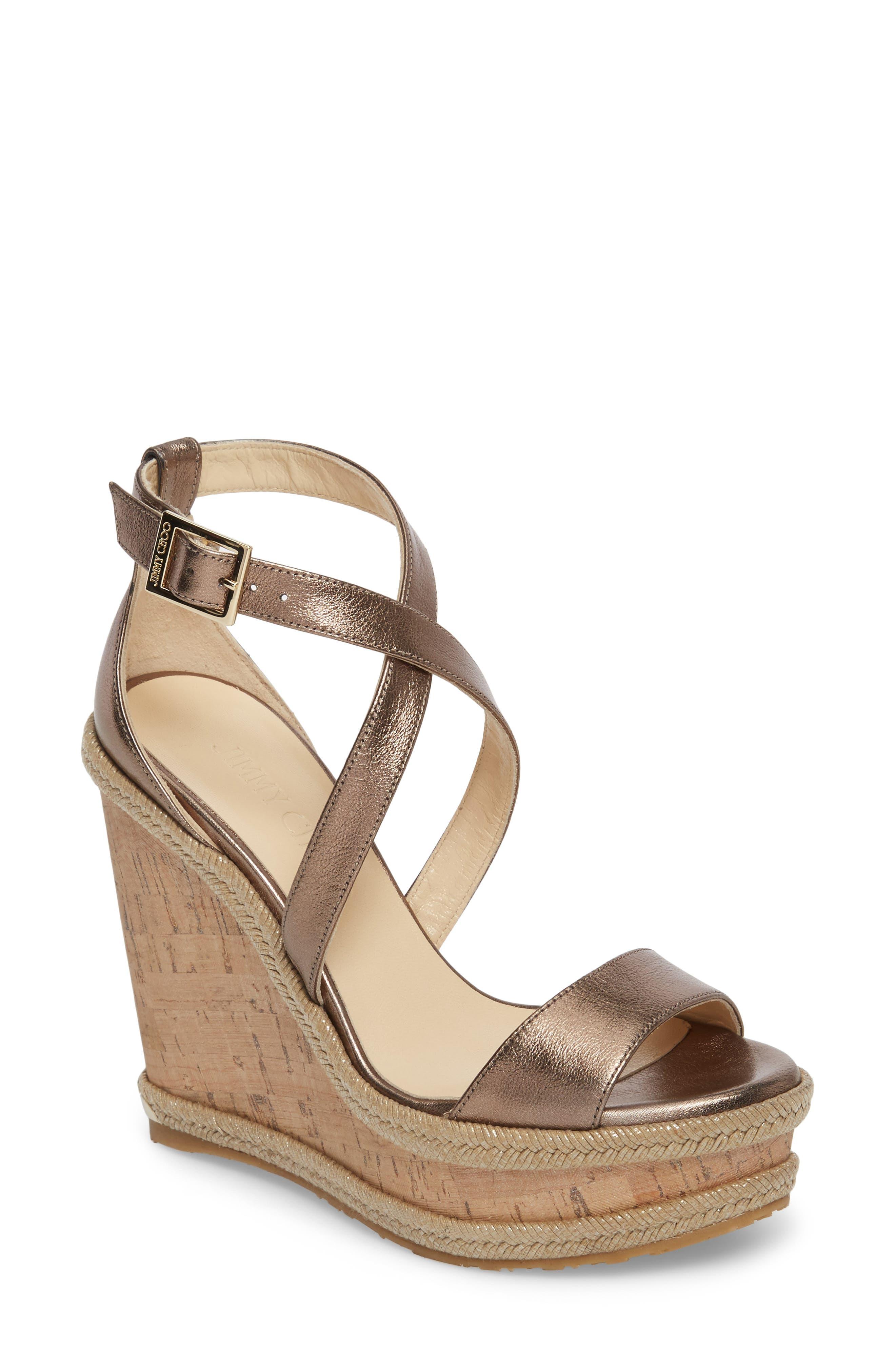 Portia Wedge Platform Sandal,                             Main thumbnail 1, color,                             710