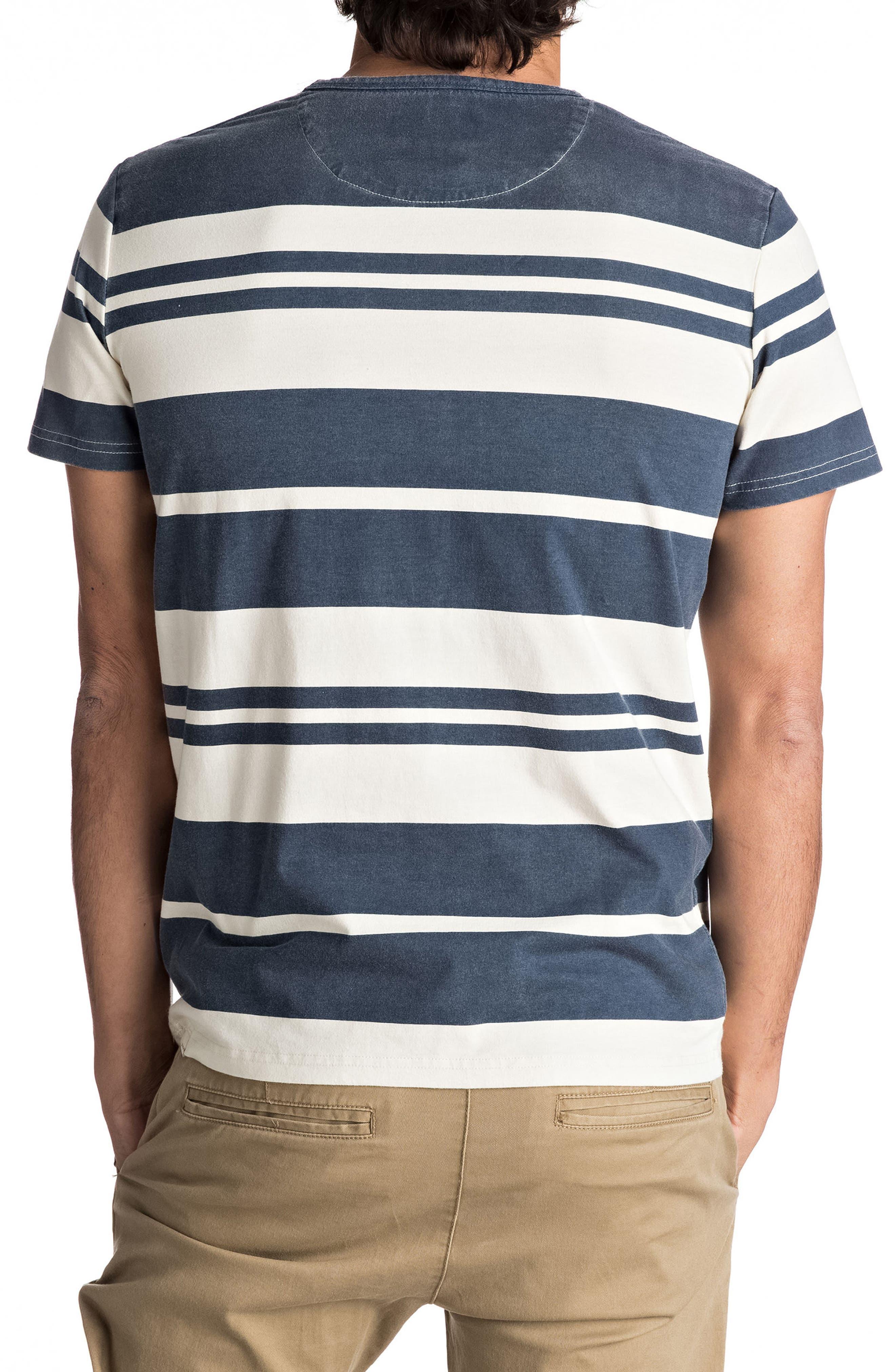 Lokea Stripe Pocket T-Shirt,                             Alternate thumbnail 5, color,