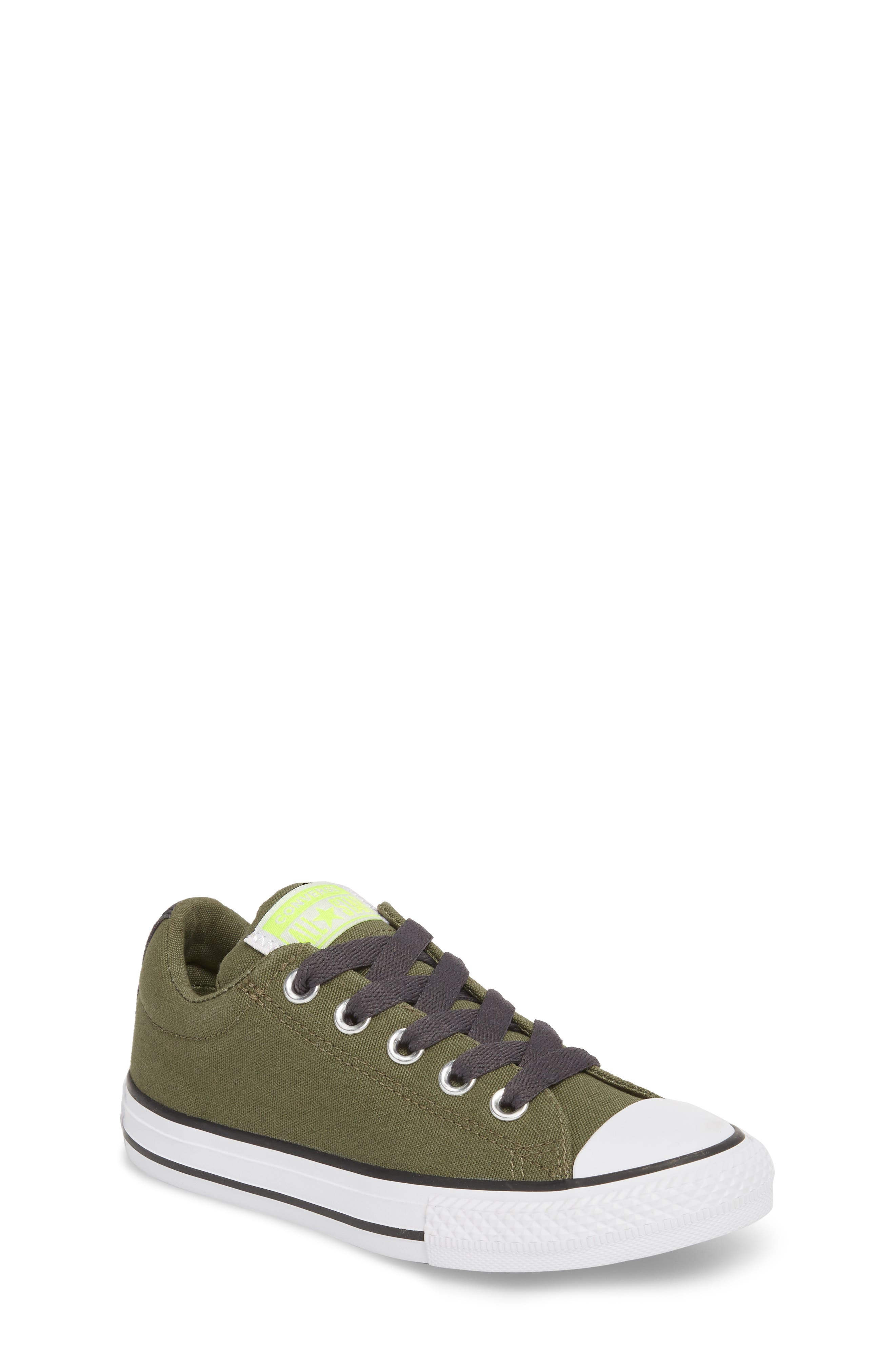 Chuck Taylor<sup>®</sup> All Star<sup>®</sup> Street Slip Low Top Sneaker,                             Main thumbnail 1, color,                             322