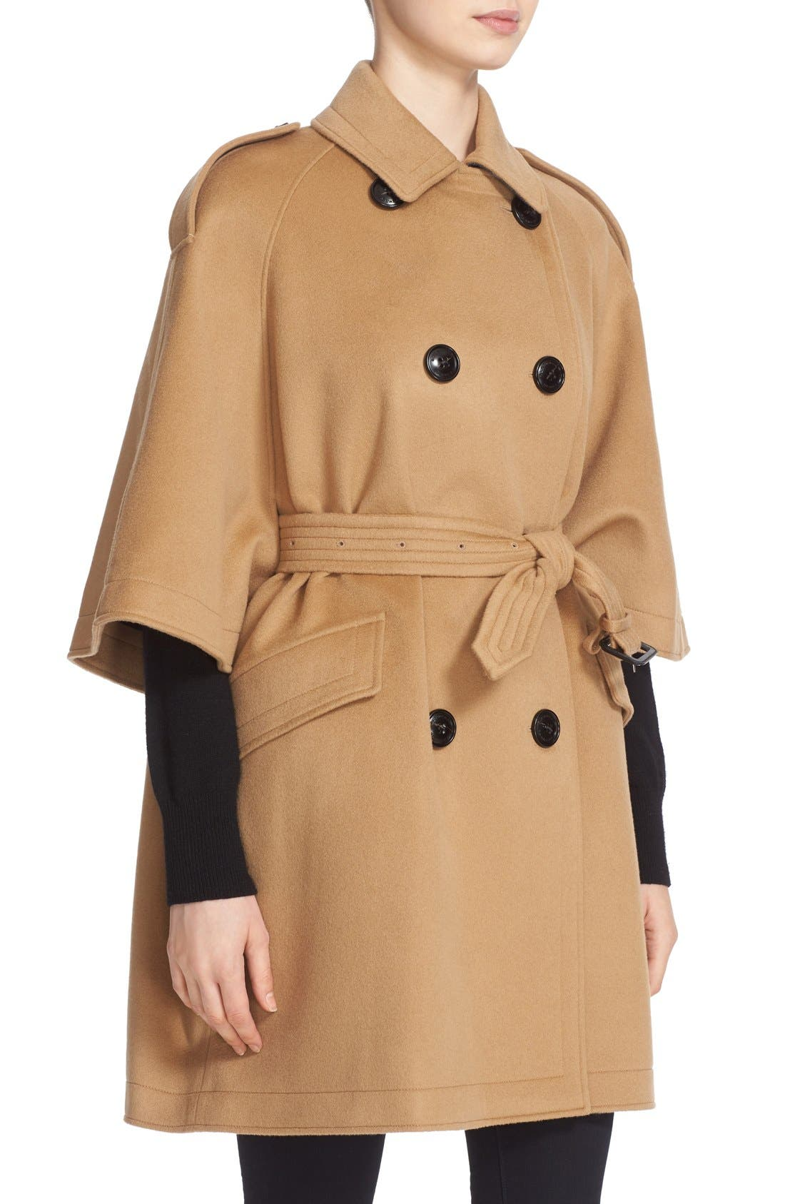 Dennington Trench Cape Coat,                             Alternate thumbnail 7, color,                             231